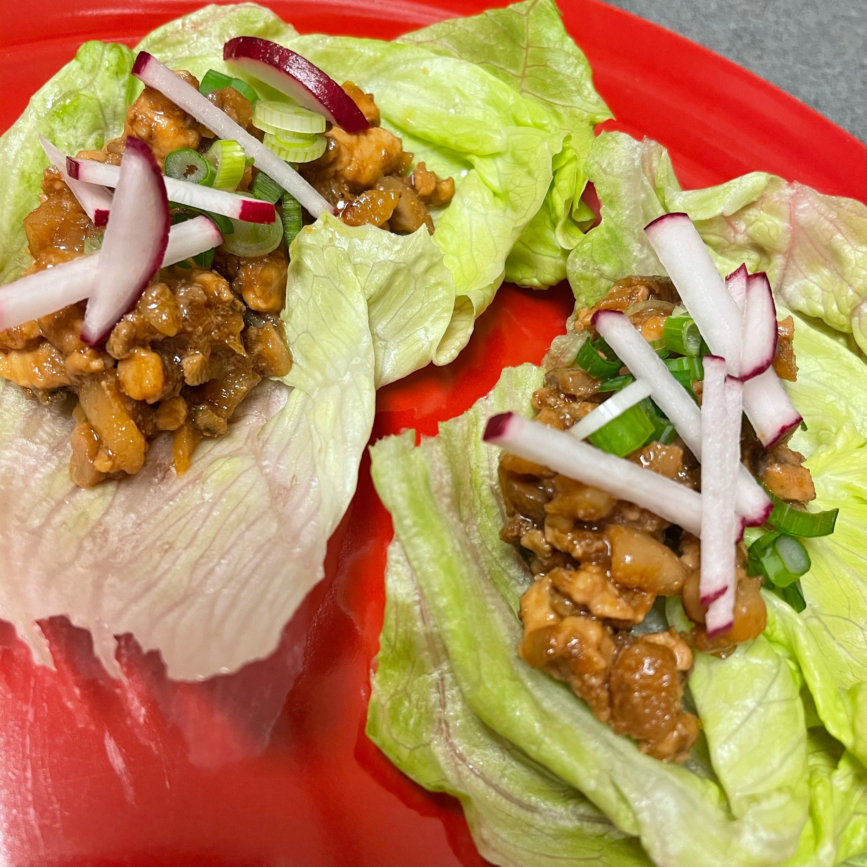 Chef John's Chicken Lettuce Wraps Joanne Monaco