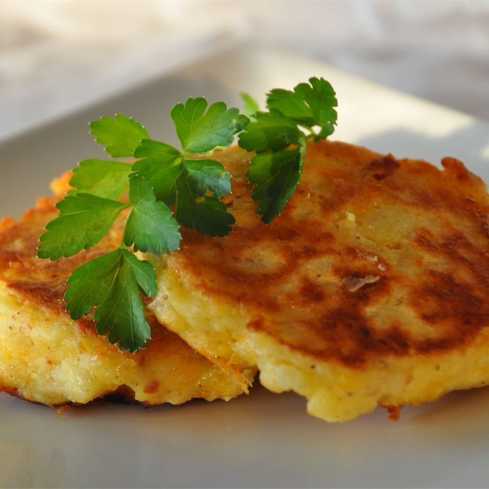 Cheesy Potato Pancakes