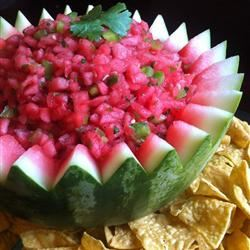 Watermelon Fire and Ice Salsa Gizelle Marr