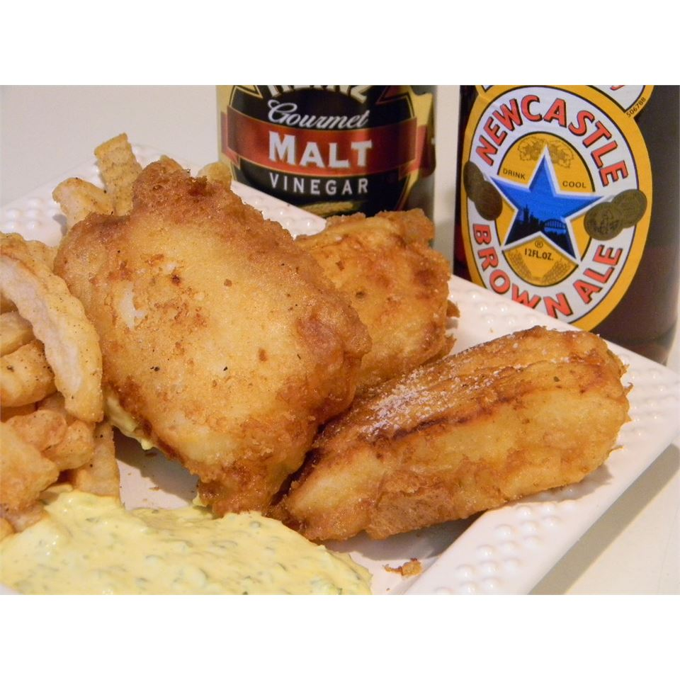 Fish Batter with Newcastle™ Brown Ale Baking Nana