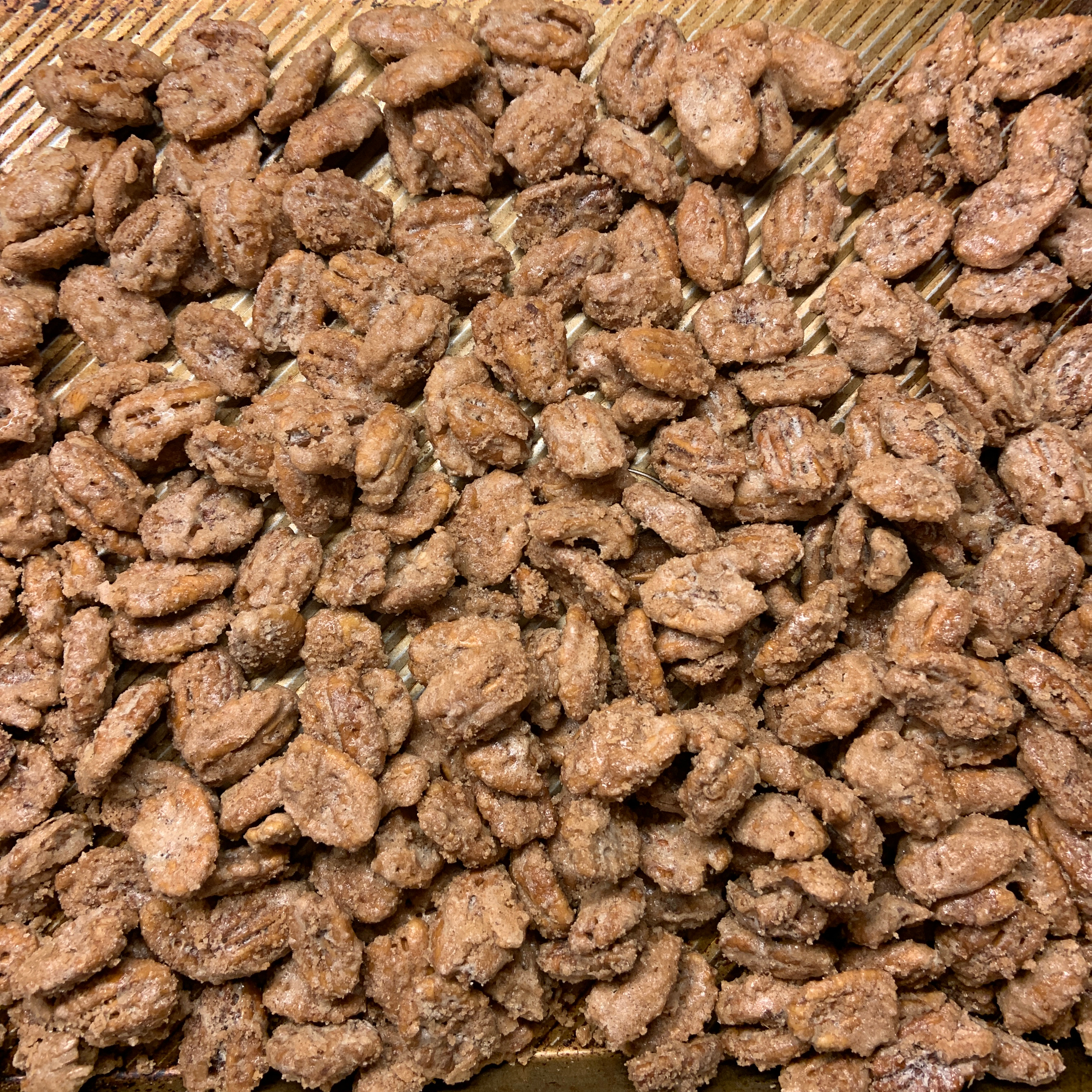 Candied Pecans Melissa F