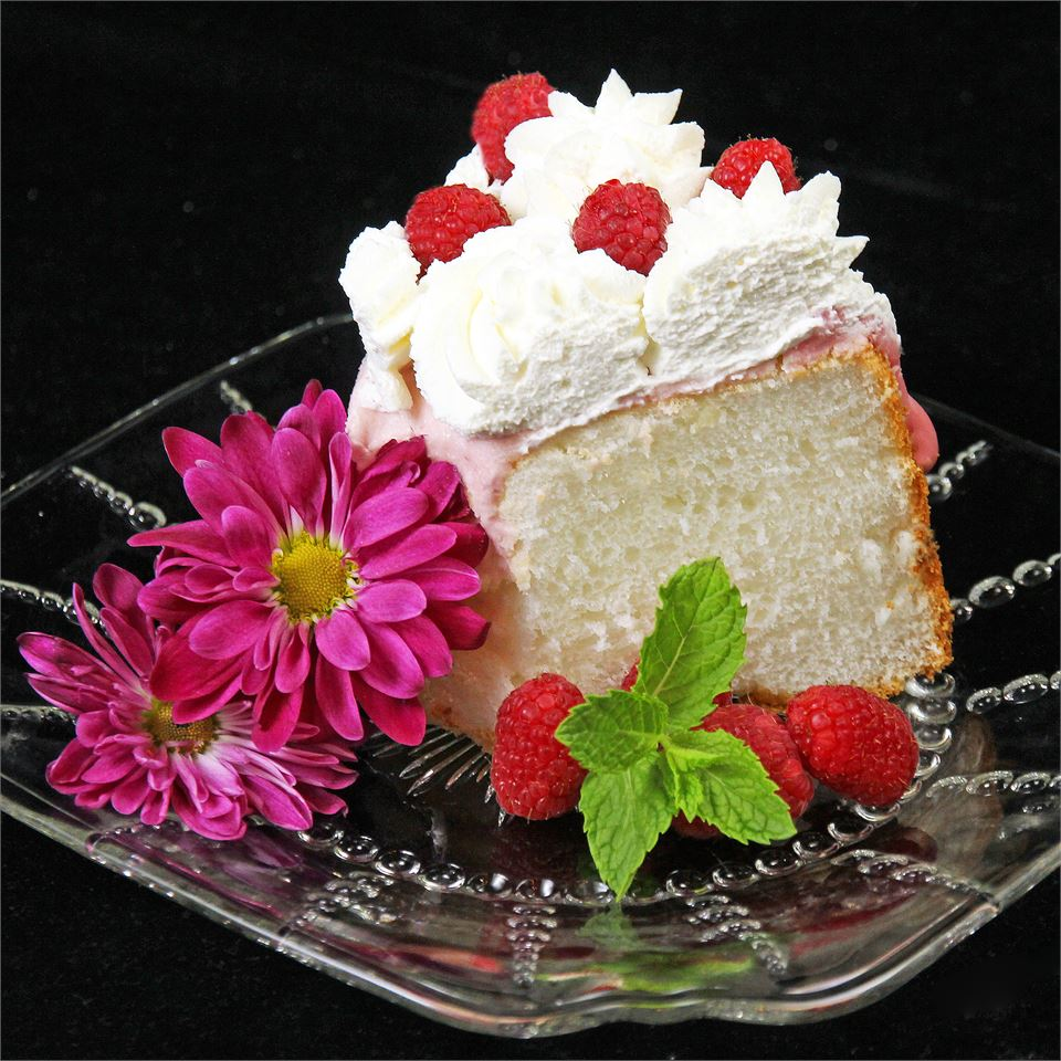 Homemade Angel Food Cake sweetserenade