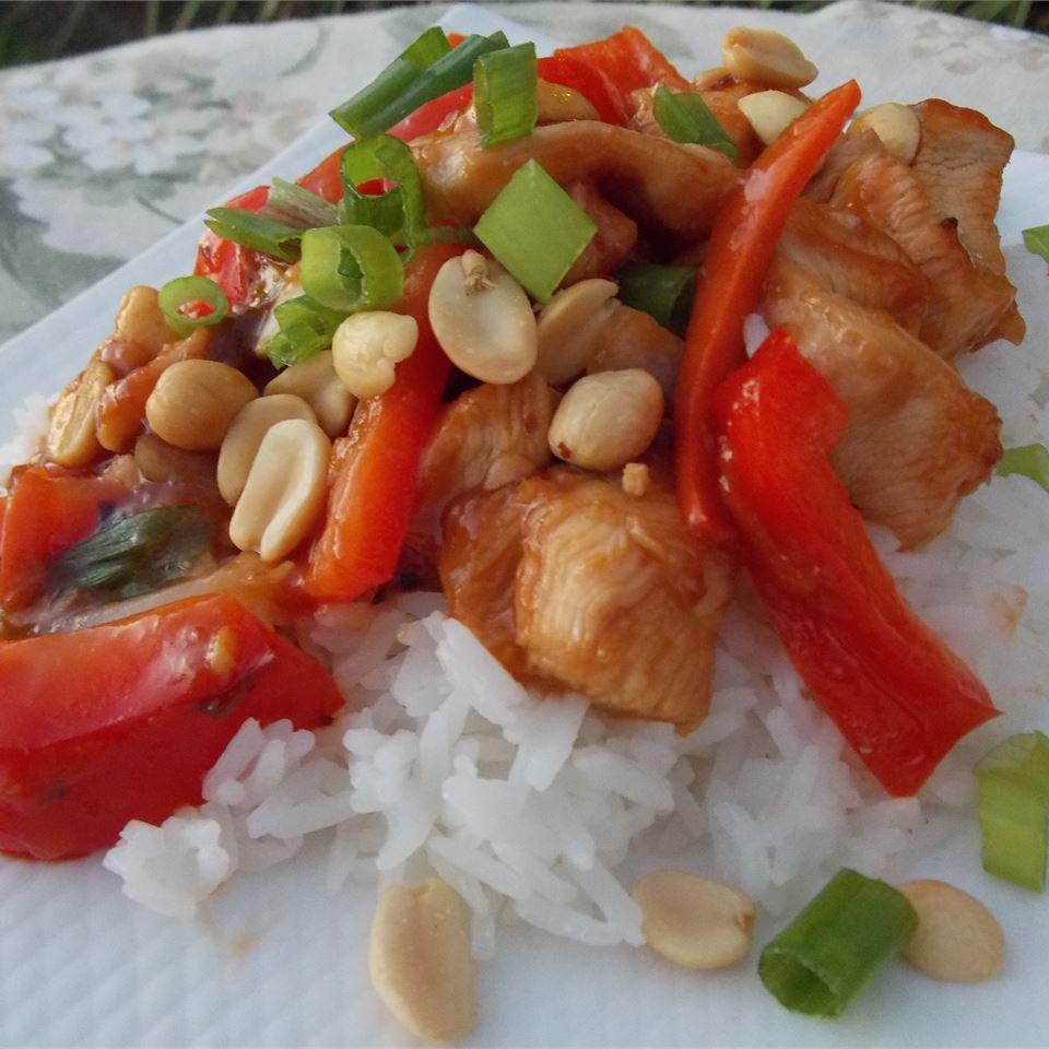 Thai Orange Chicken COOKINGQUEEN75