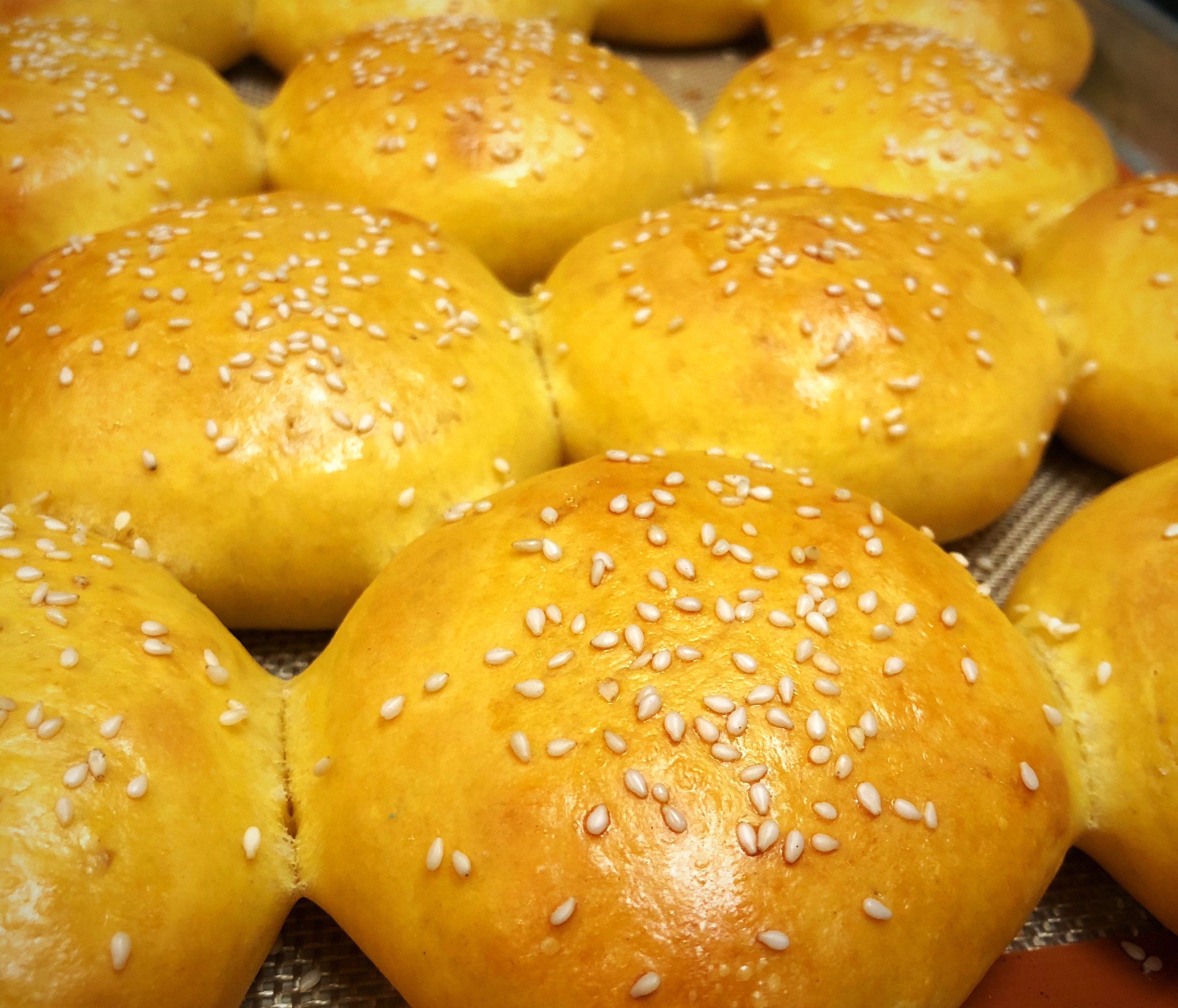 Sweet Potato Buns luv2cook