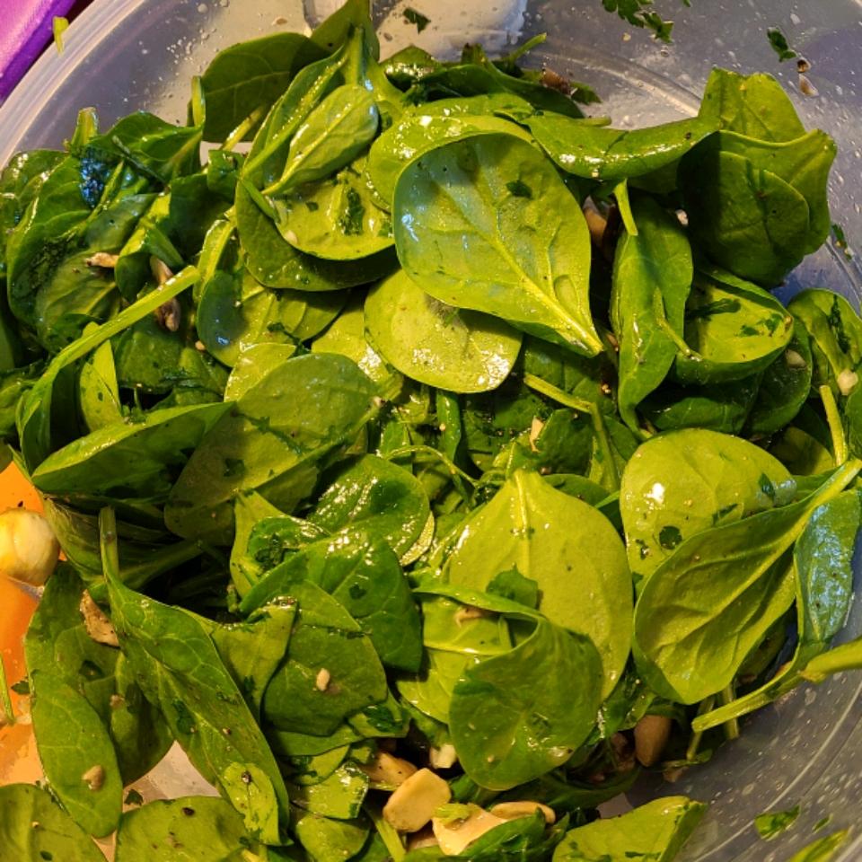 Vegan Mushroom Salad Emily Dinges