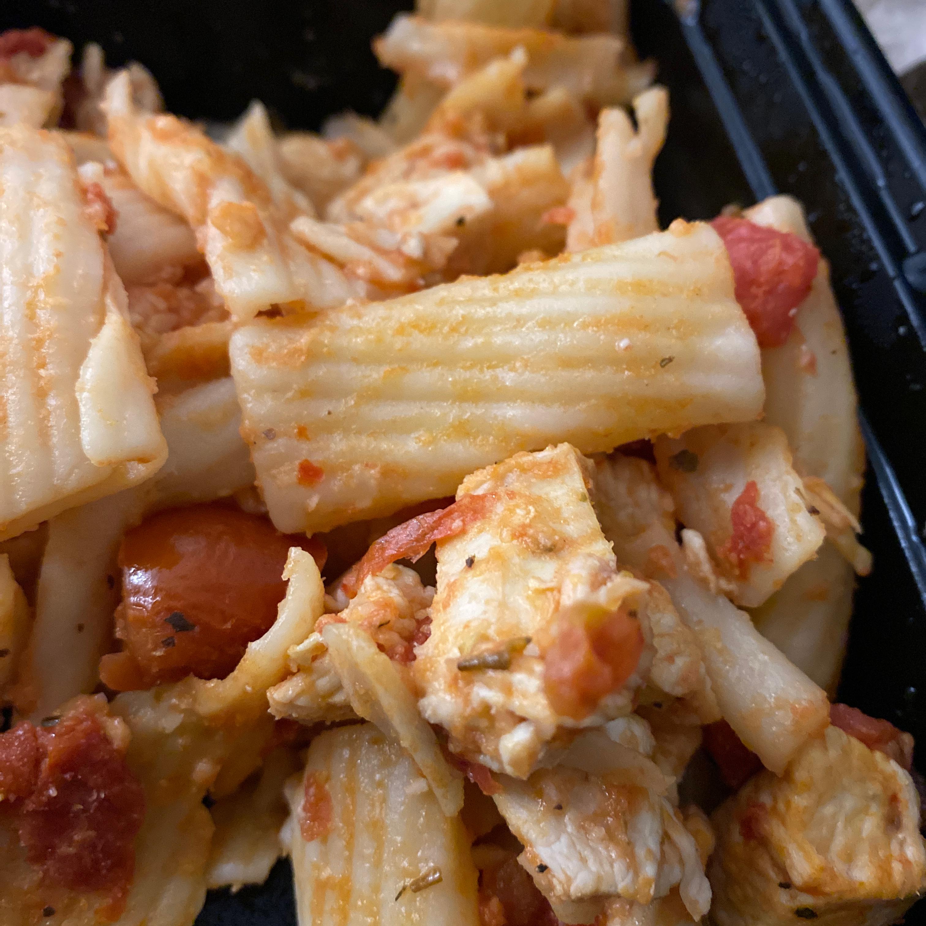 Rigatoni with Italian Chicken MamaLo