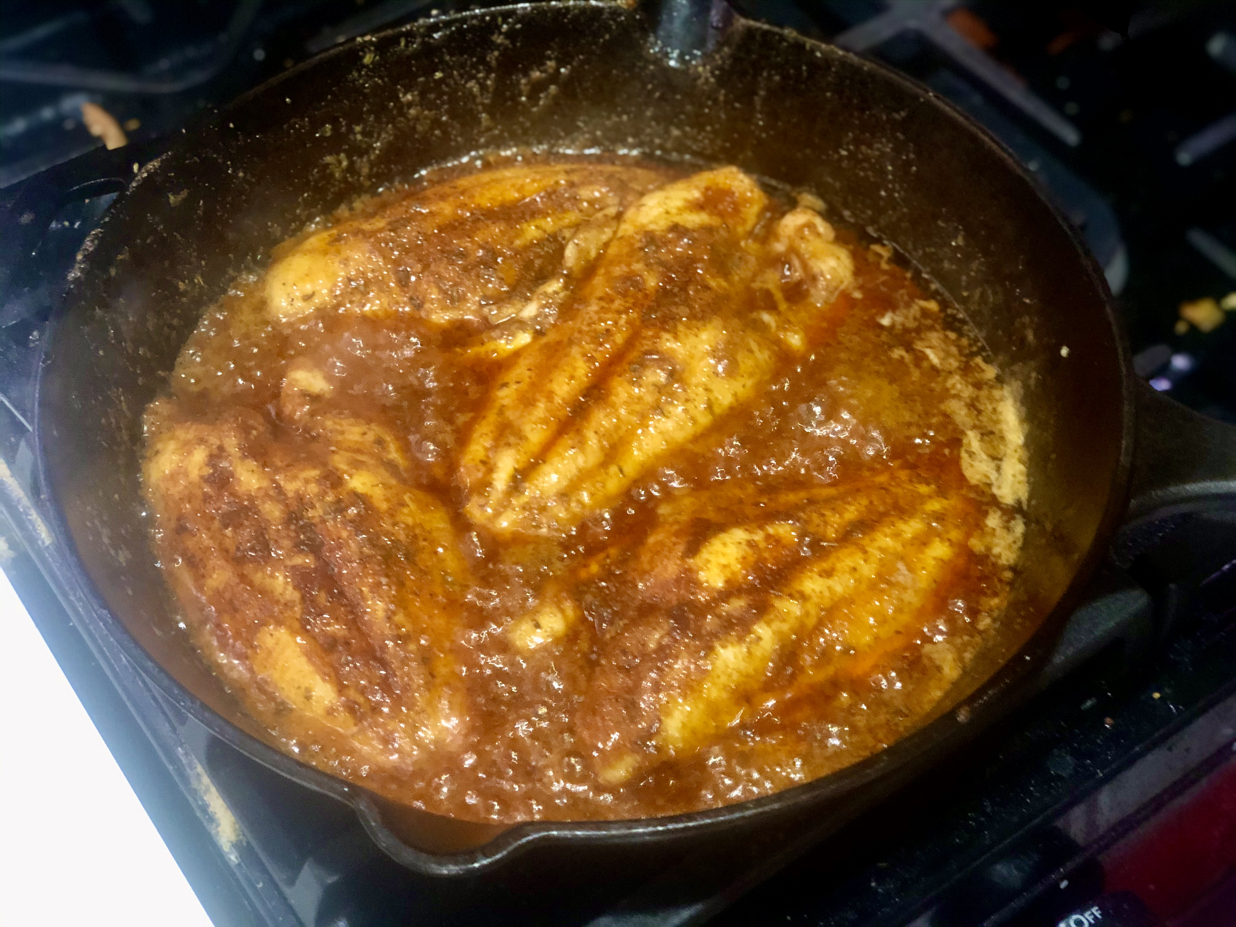 Cajun Blackened Catfish