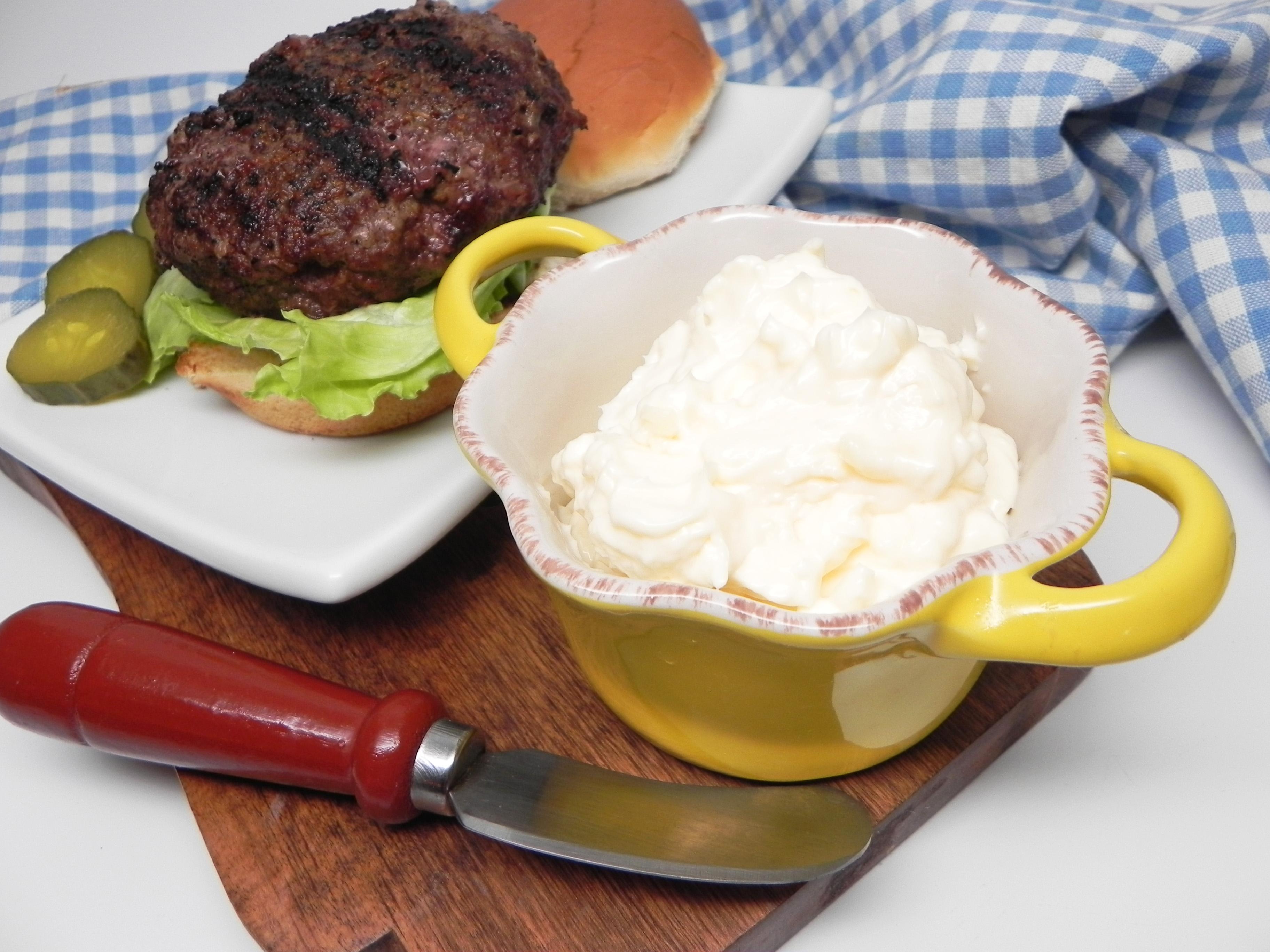 Vegan Aquafaba Mayonnaise