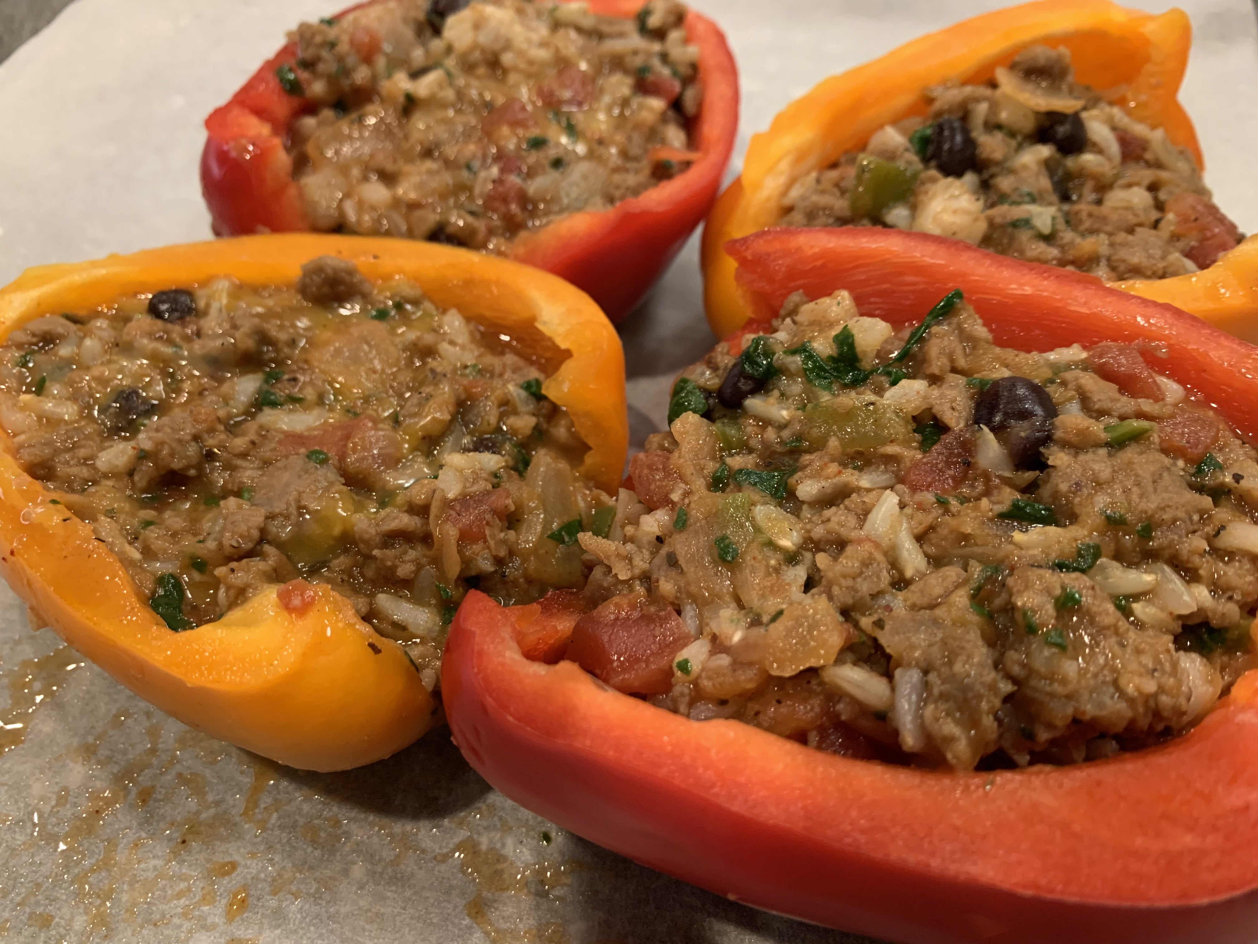 Impossible™ Stuffed Peppers stormybeach