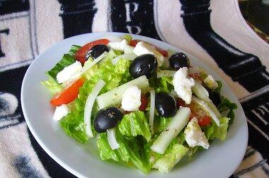 Greek Salad The Best Recipe Allrecipes
