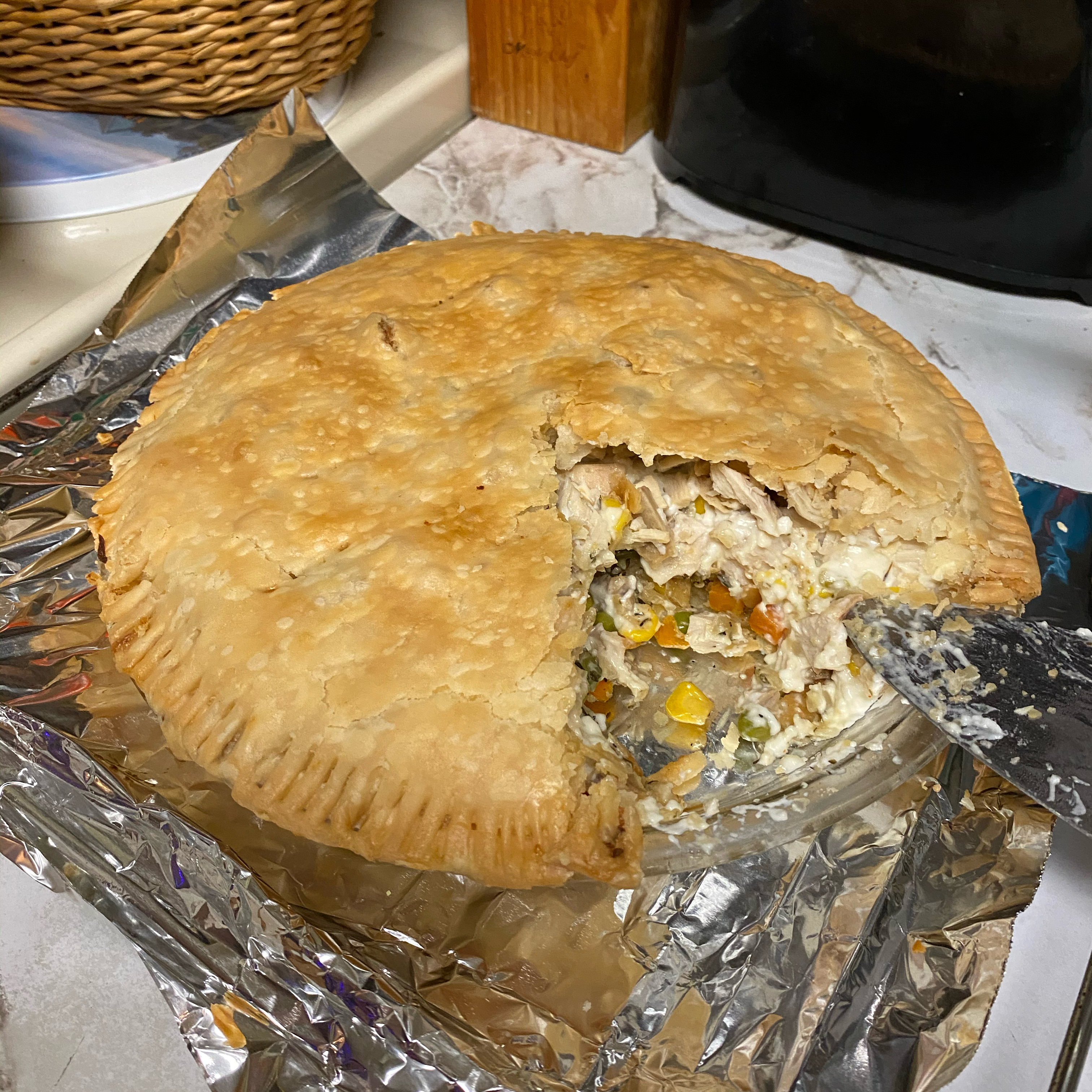 Just Another Turkey Pot Pie Cee