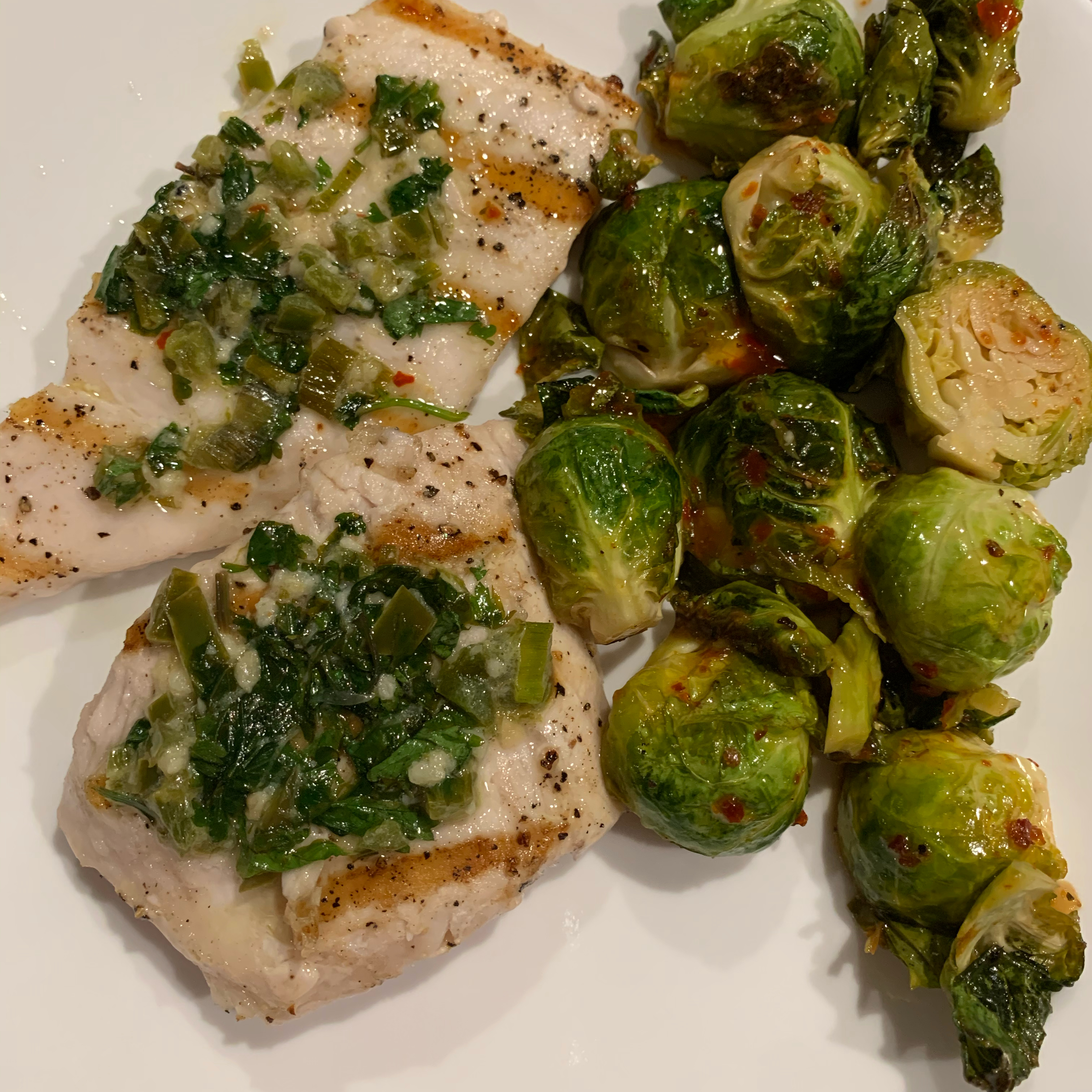 Grilled Swordfish Steaks with Cilantro-Lime Butter