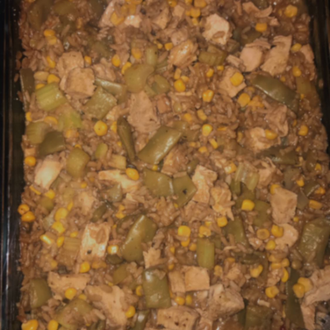 Wild Rice and Leftover Turkey Casserole Krystle Peters