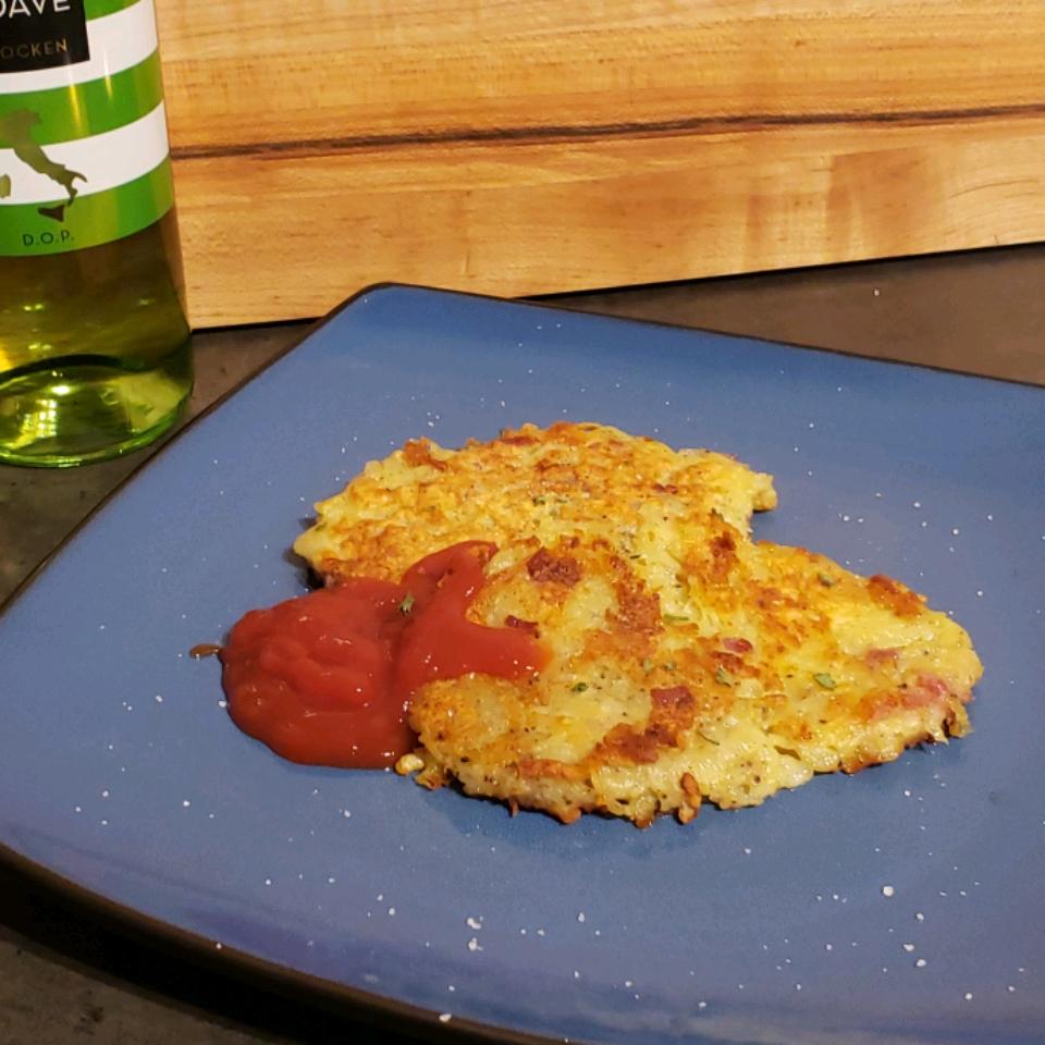 Polpette di Patate Fritte (Potato and Prosciutto Fritters) Casey C.