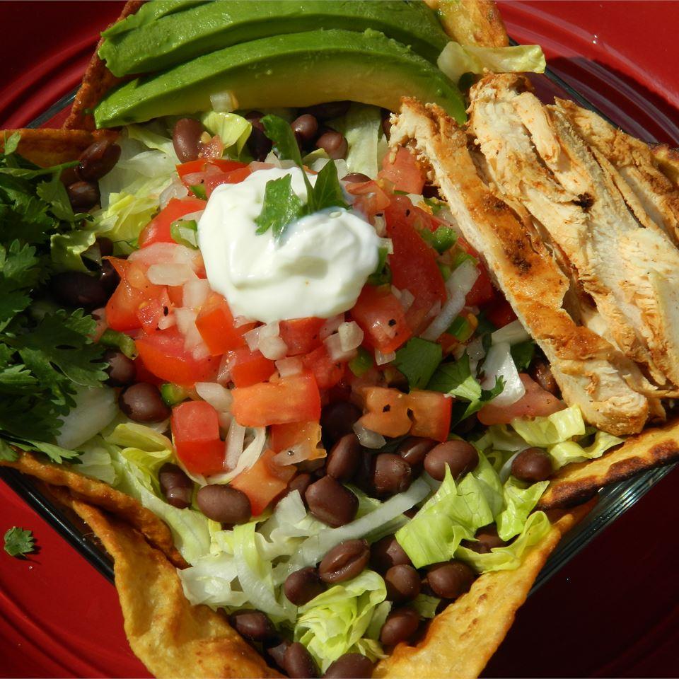 Grilled Chicken Taco Salad MTCHYG