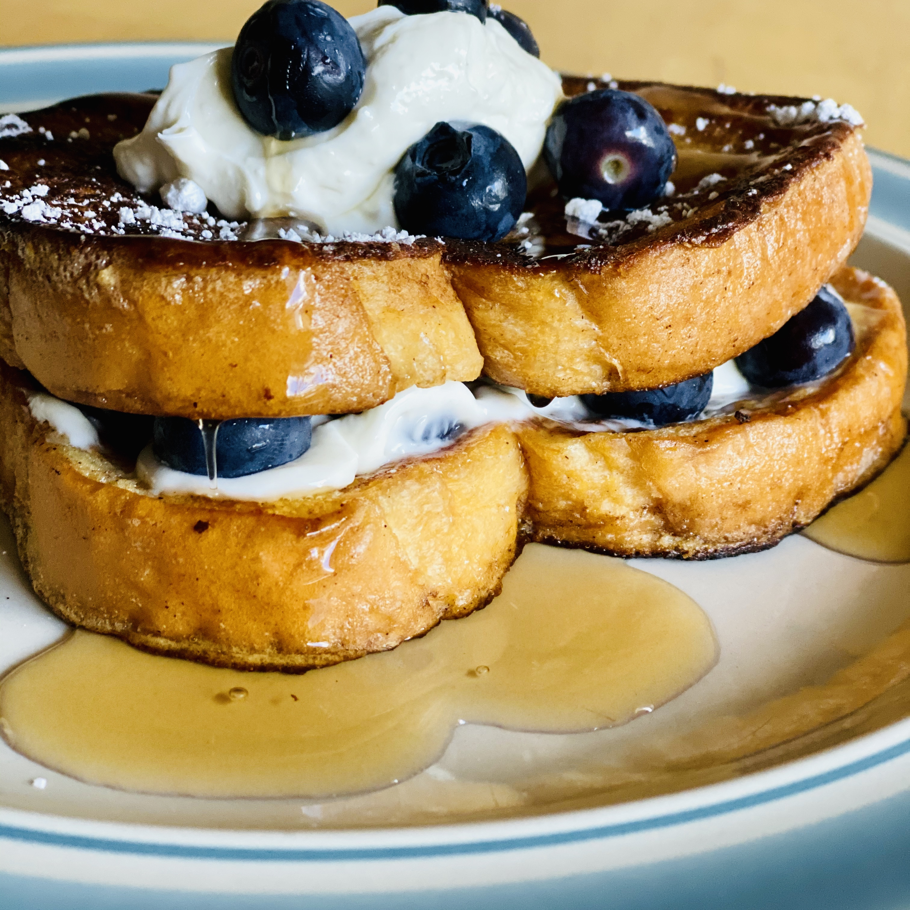 Fabulous Frosted French Toast Marisa