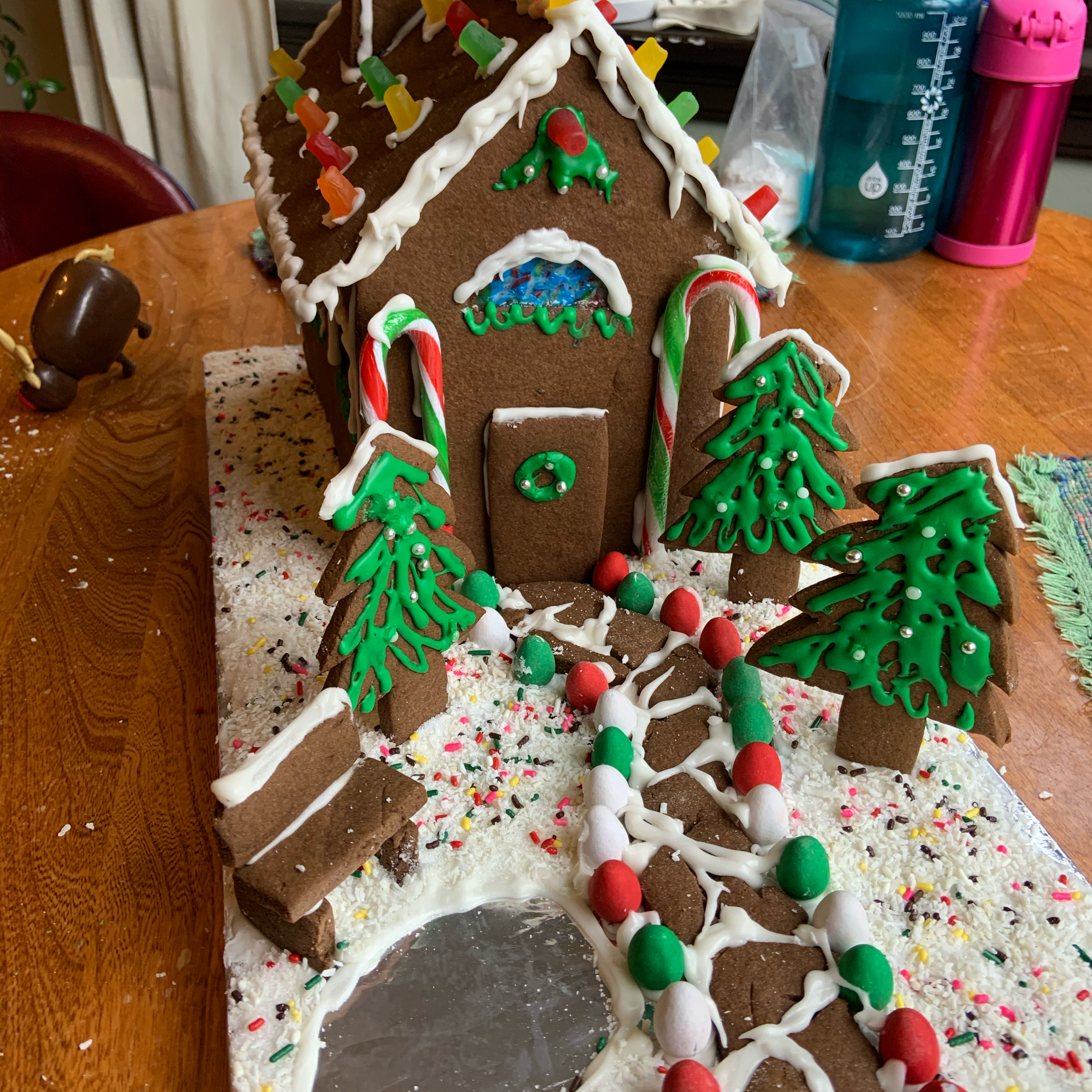 Christmas Gingerbread House SmartyMaddyPants