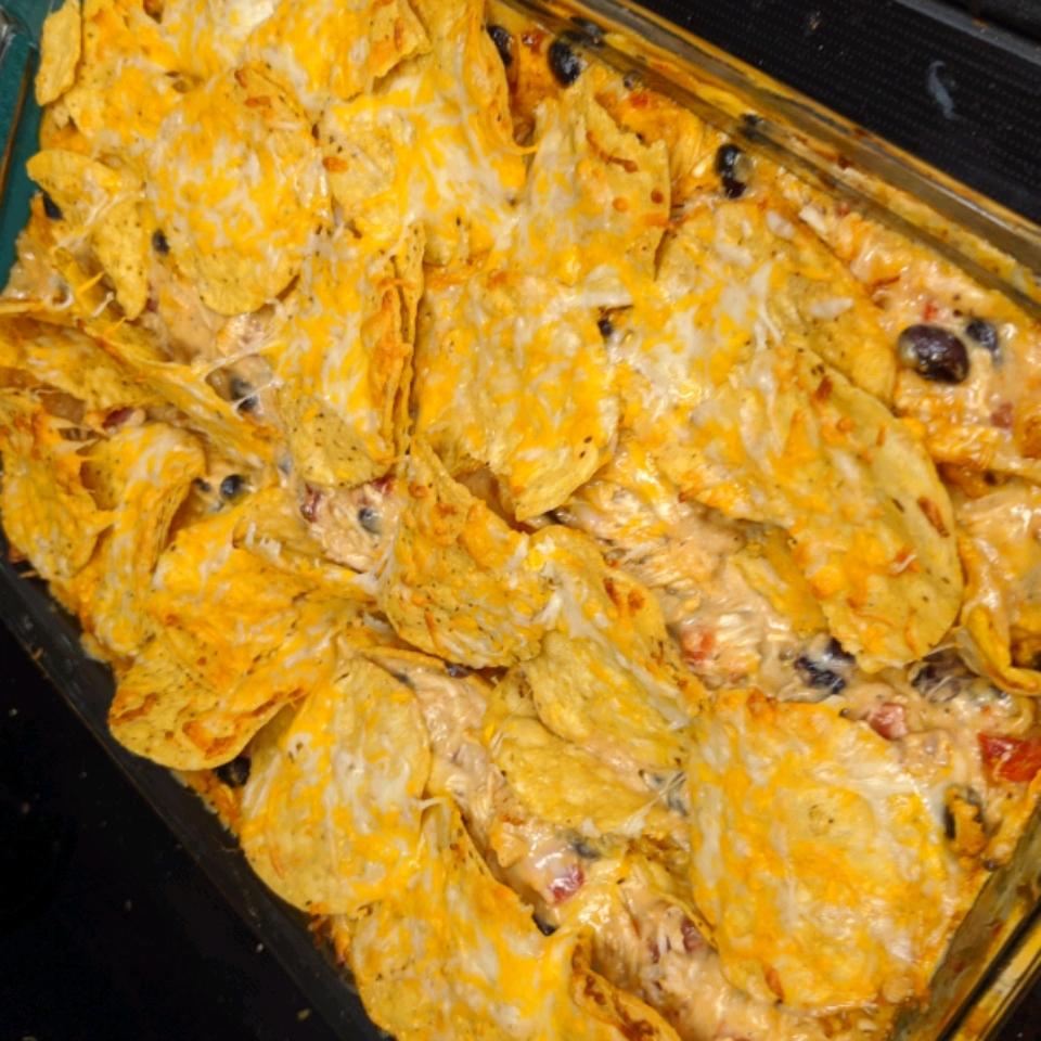 Chicken Taco Casserole Kirsten Larson