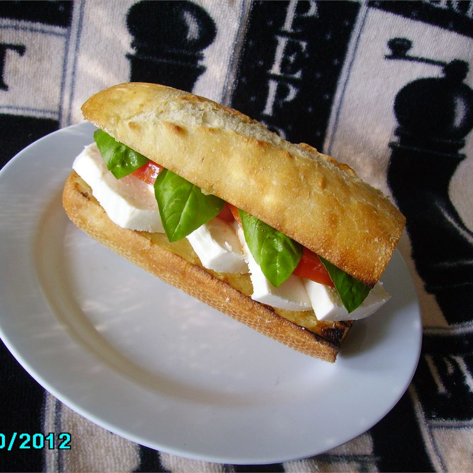 Toasted Caprese Sandwich Christina