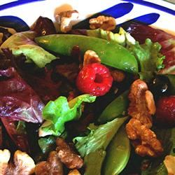 Sugar Snap Pea and Berry Salad SunnyByrd