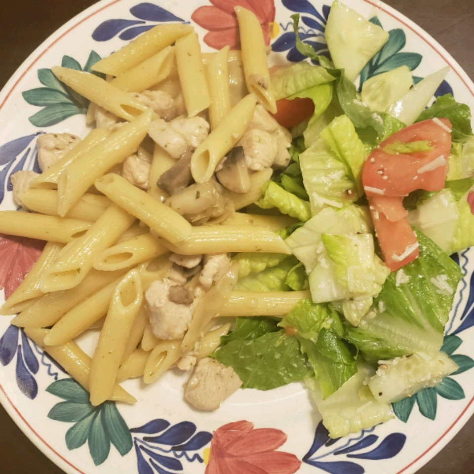 Chicken Pasta with Artichoke Hearts Emmy W