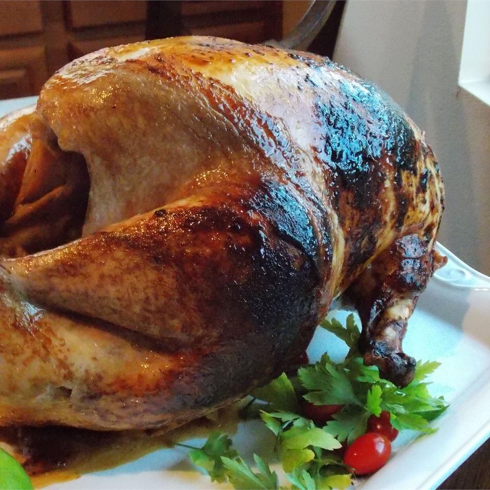 English Honey-Roasted Turkey