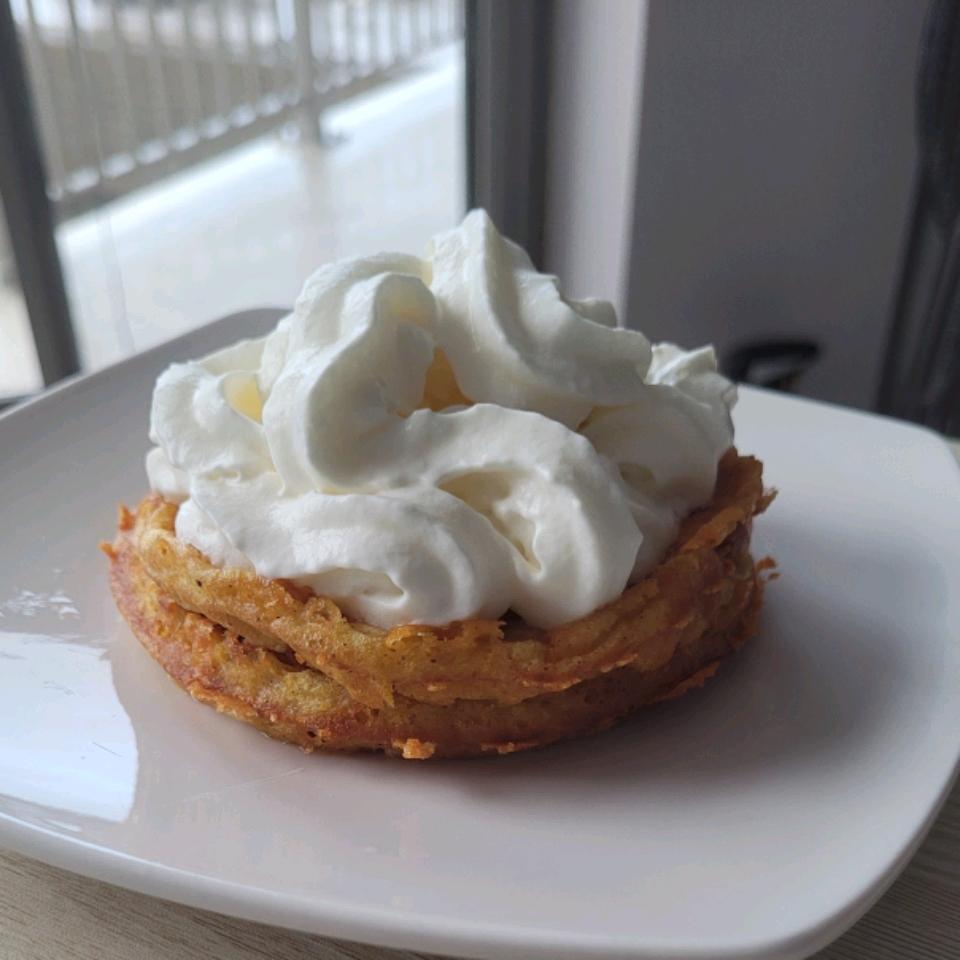 Chaffles with Almond Flour KC Billingslea