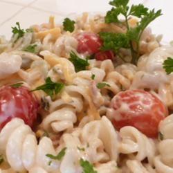 Bacon Ranch Pasta Salad Lucky Noodles