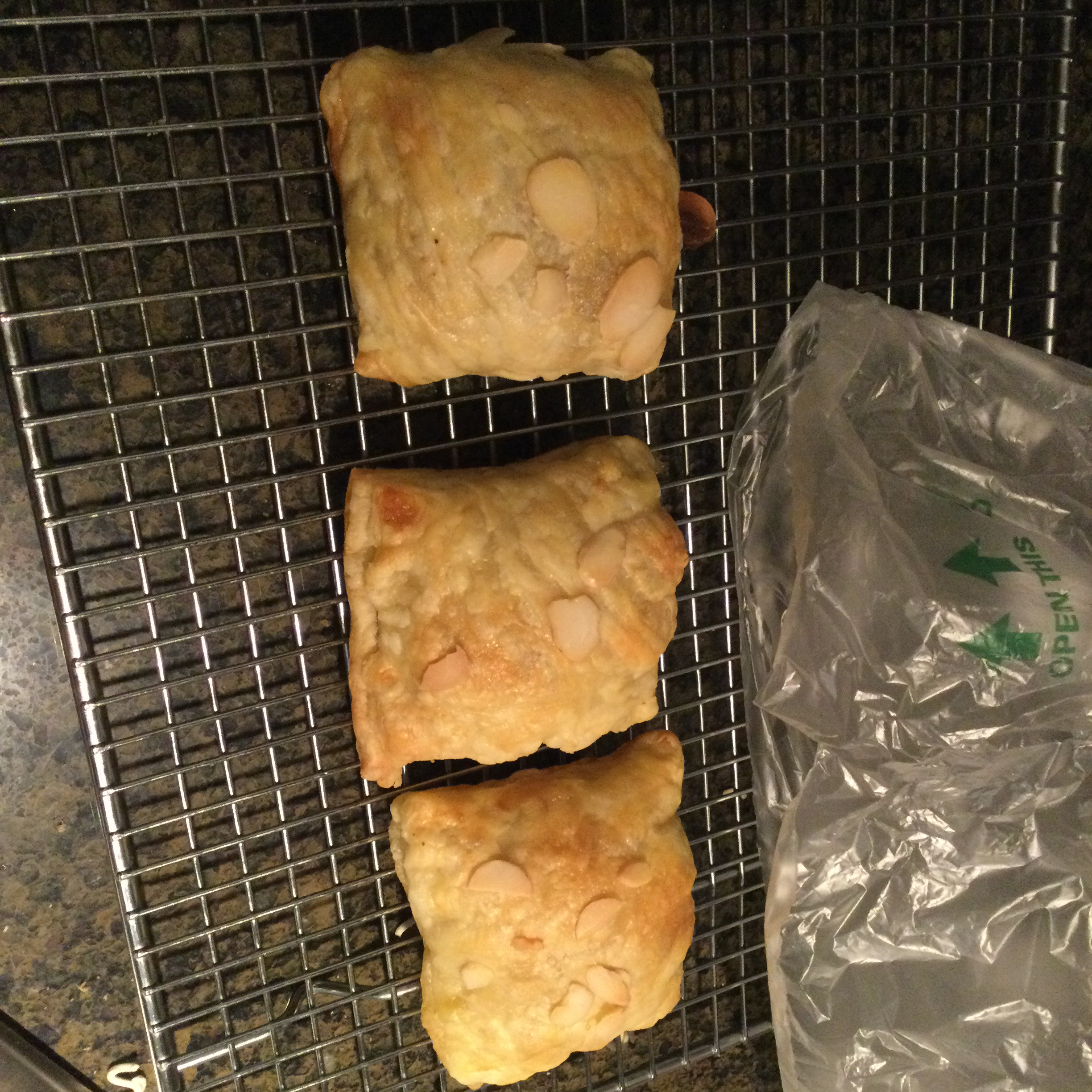 Puff Pastry Bear Claws Meagan F