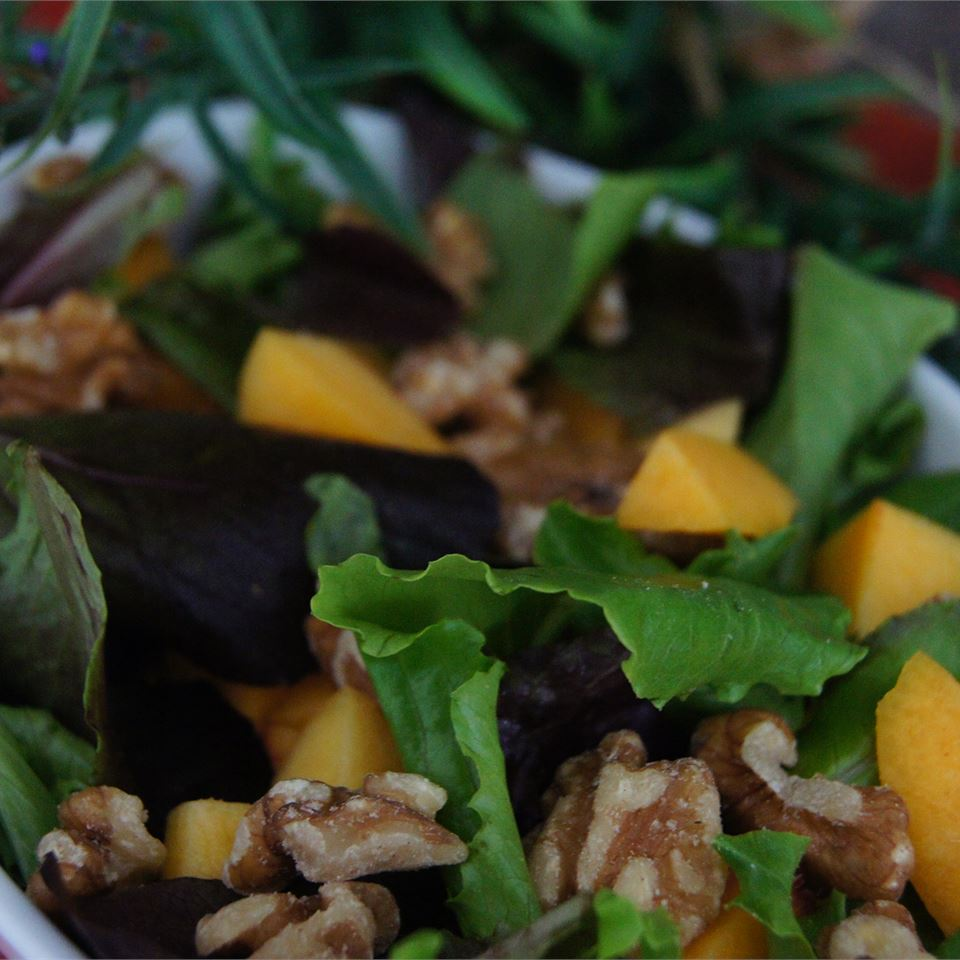 Chicken Salad with Peaches and Walnuts Barrett