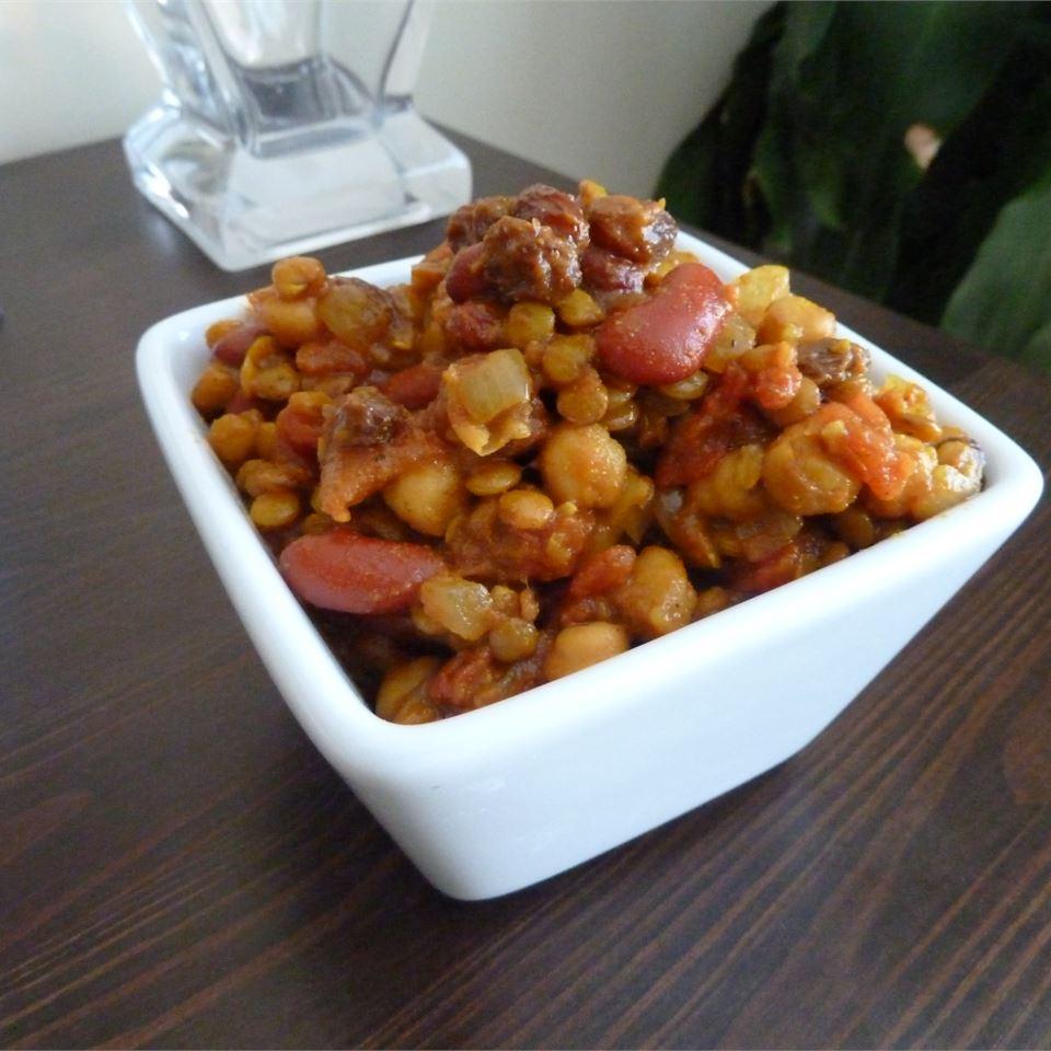 Vegetarian Bean Curry Michelle