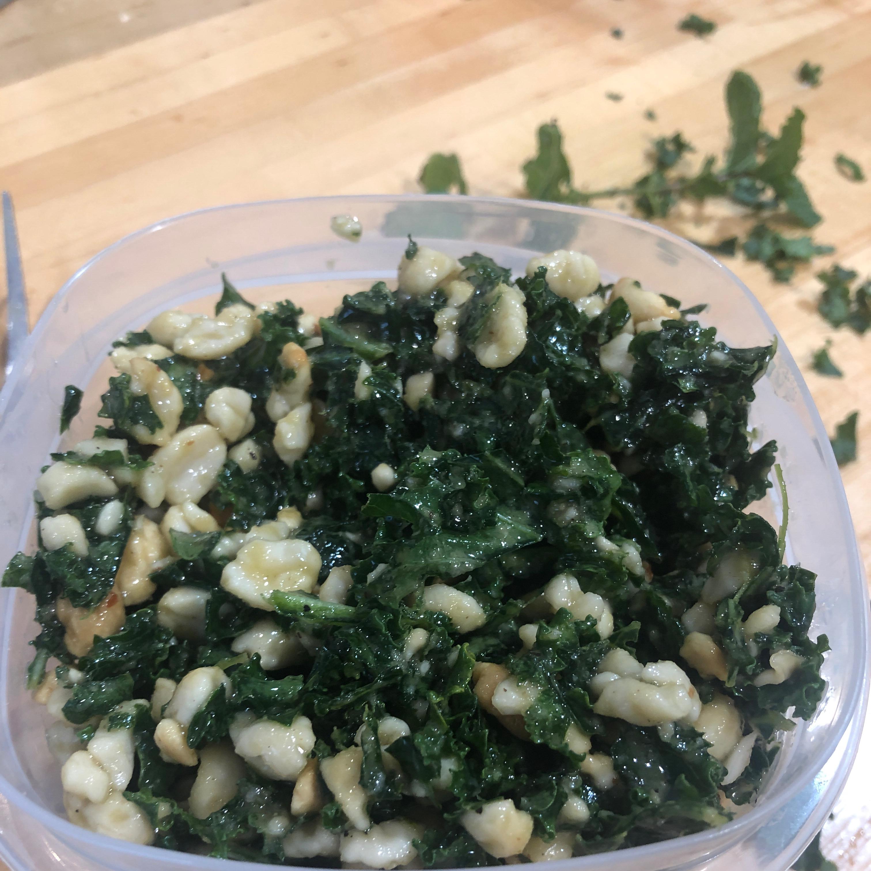 Kale Salad with Peanut Dressing jenni0820