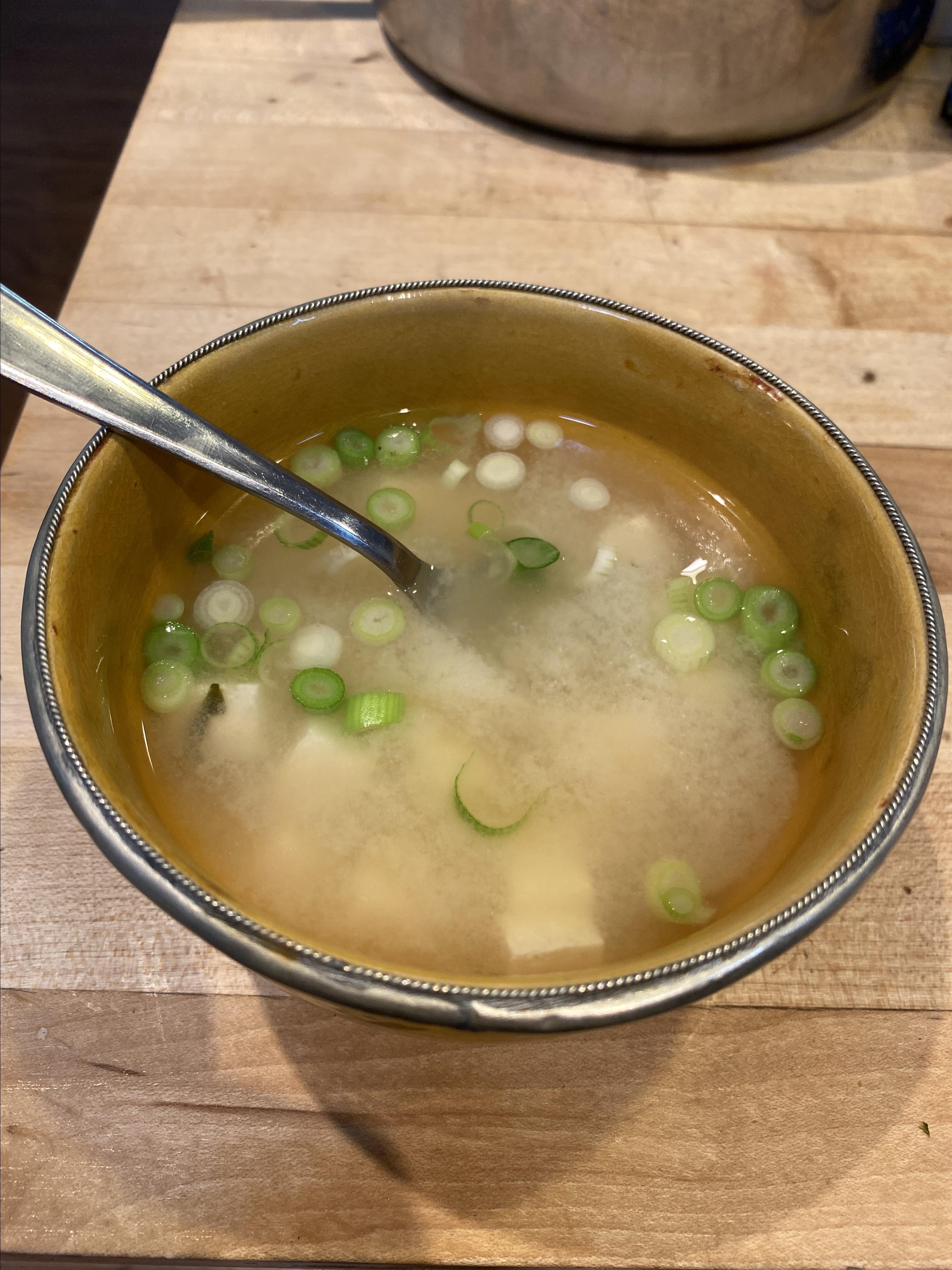 Authentic Miso Soup DEREK HILL