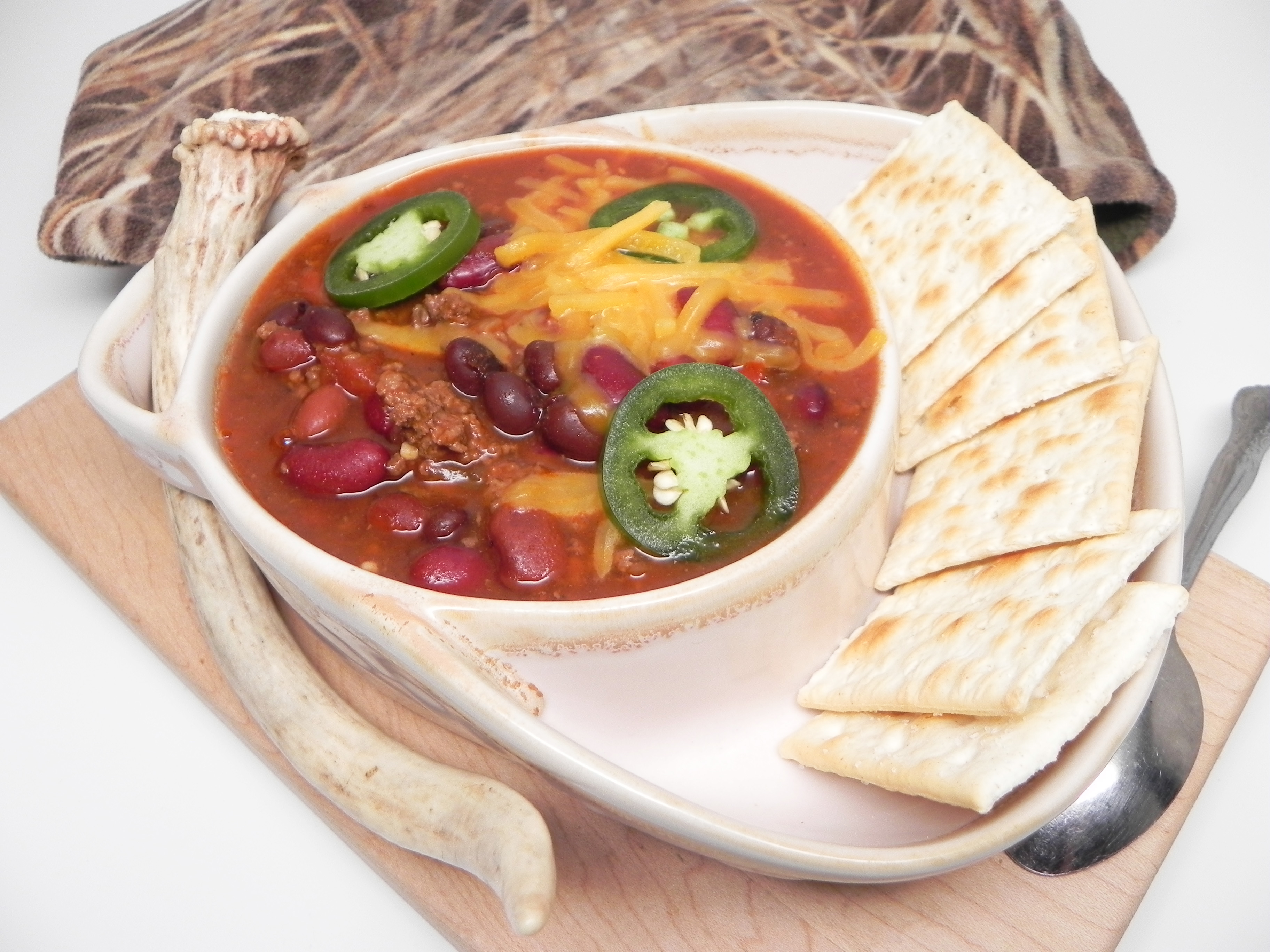 Instant Pot® Venison and Bean Chili