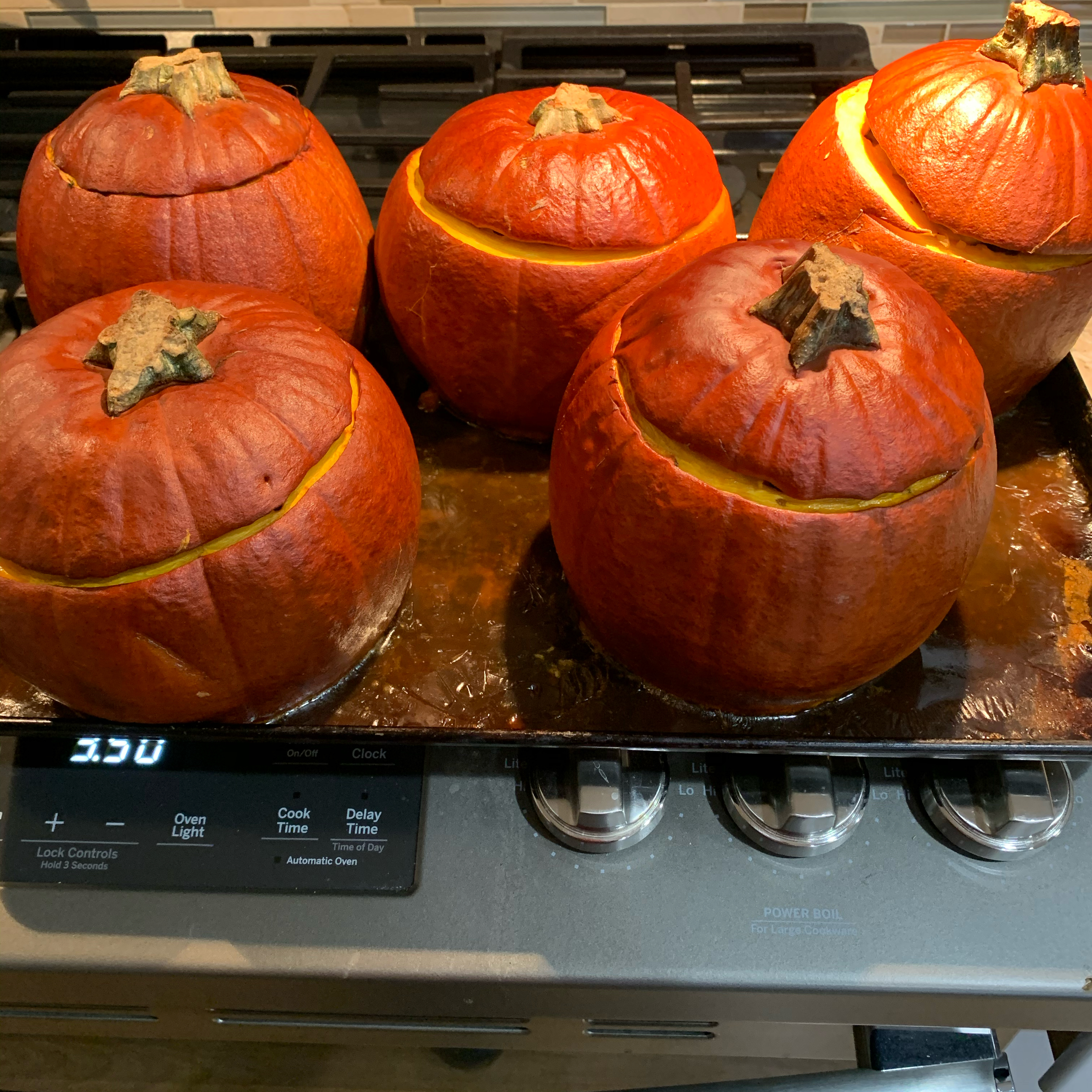 Cinderella Pumpkin Bowl with Vegetables and Sausage Mary
