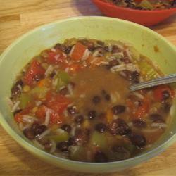Beezie's Black Bean Soup BakingFiend