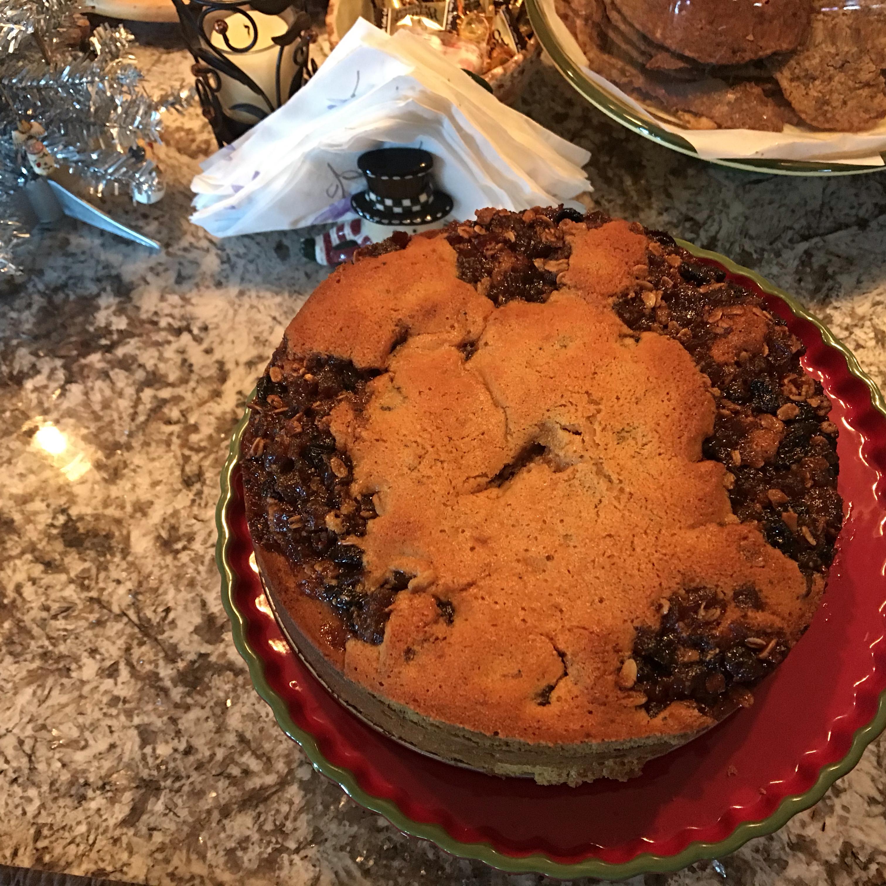 Mincemeat Spice Cake Sherrie