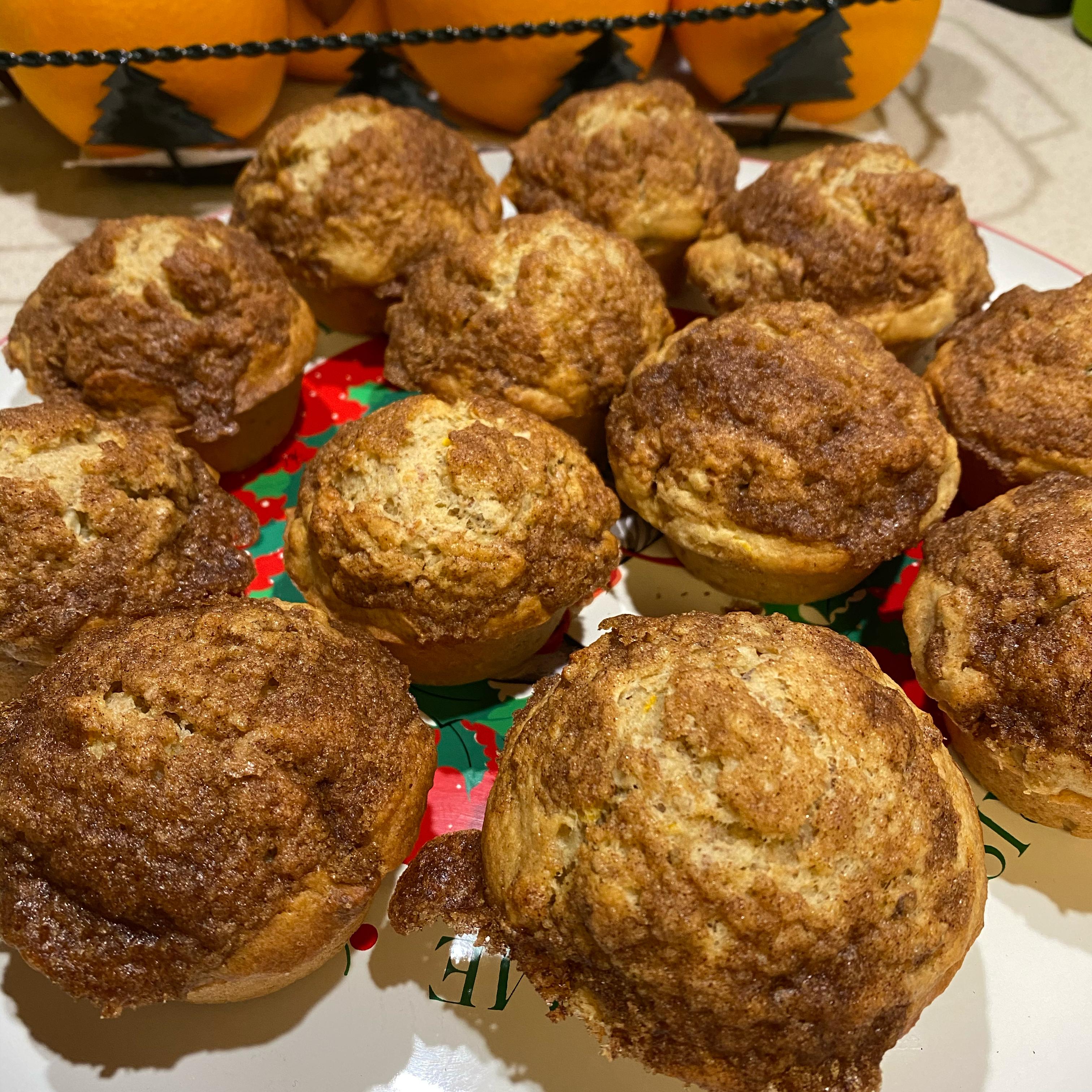 Mennonite Orange Muffins Michelle David Lehman