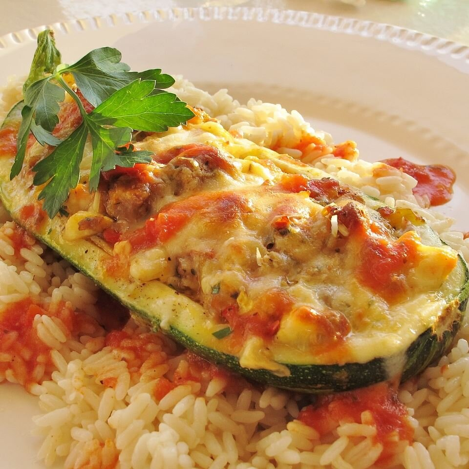 Stuffed Zucchini Recipe Allrecipes