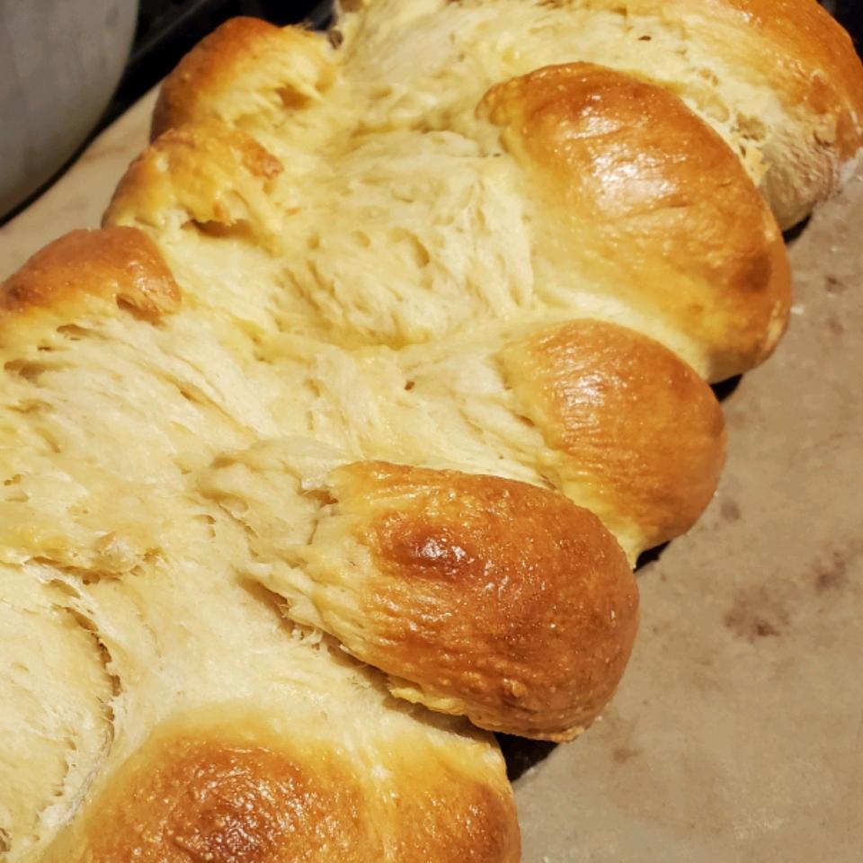 Easy Challah Bread