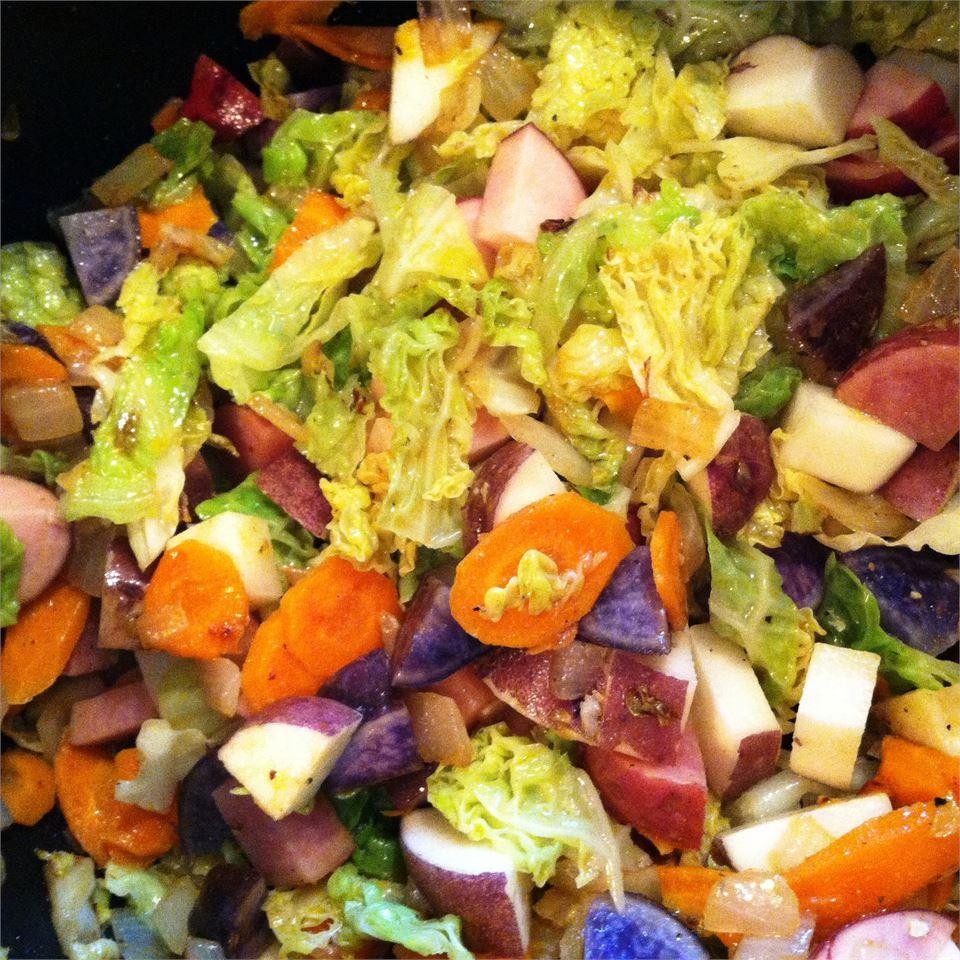 Ethiopian Cabbage Dish Jodi