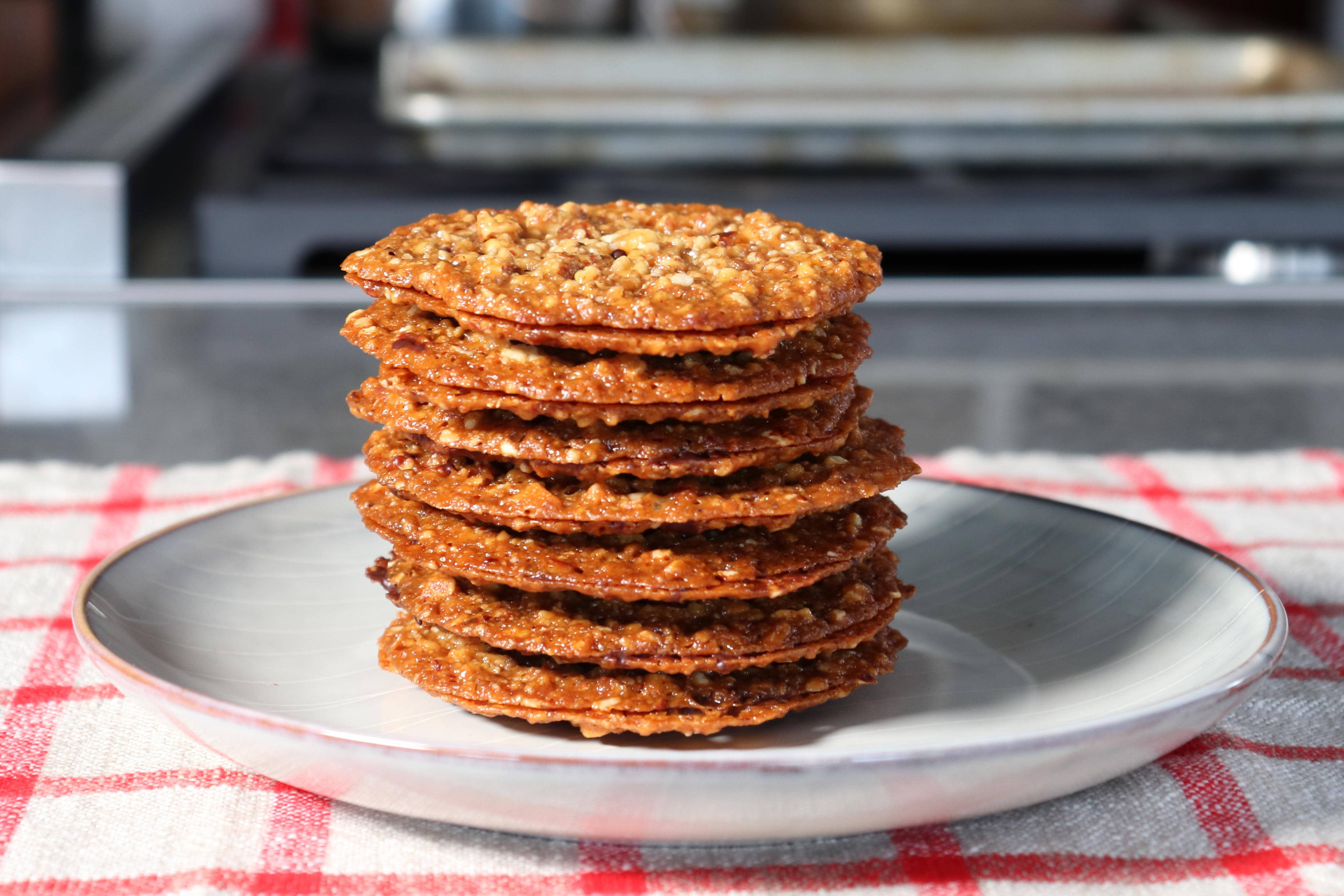 Lace Cookies (Florentine Cookies)