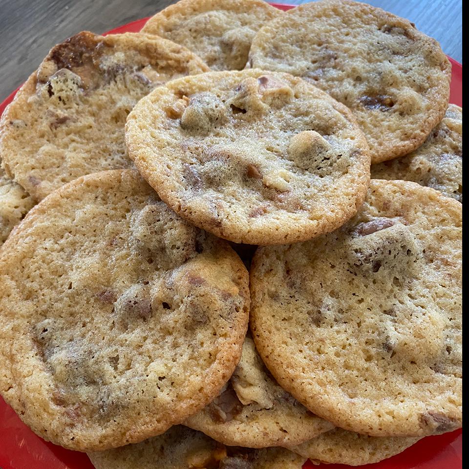 Chunky Halloween Candy Cookies