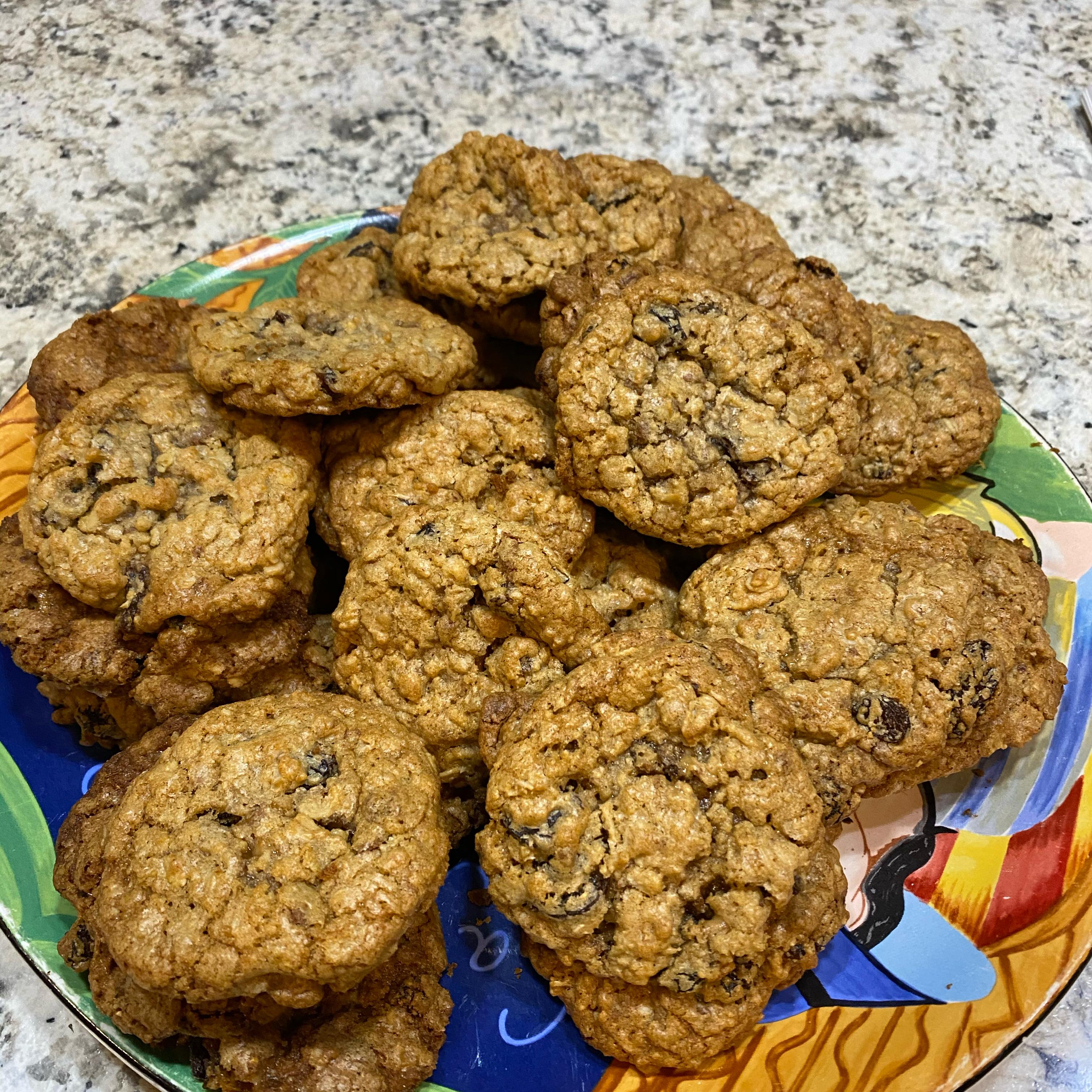 Oatmeal Raisin Toffee Cookies Roger Koehn