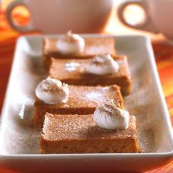 Easy Pumpkin Pie Squares