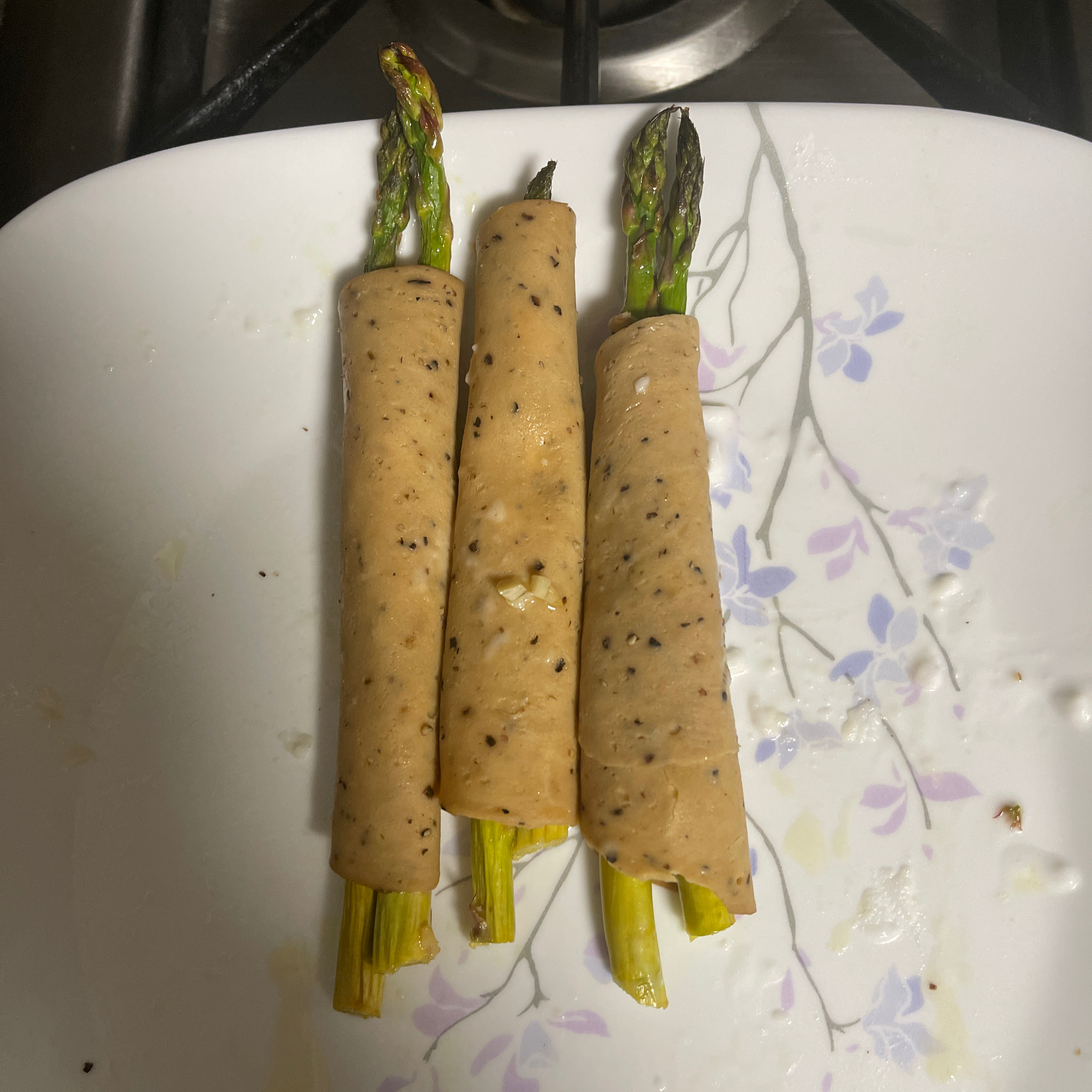 Wrapped Asparagus Wendy