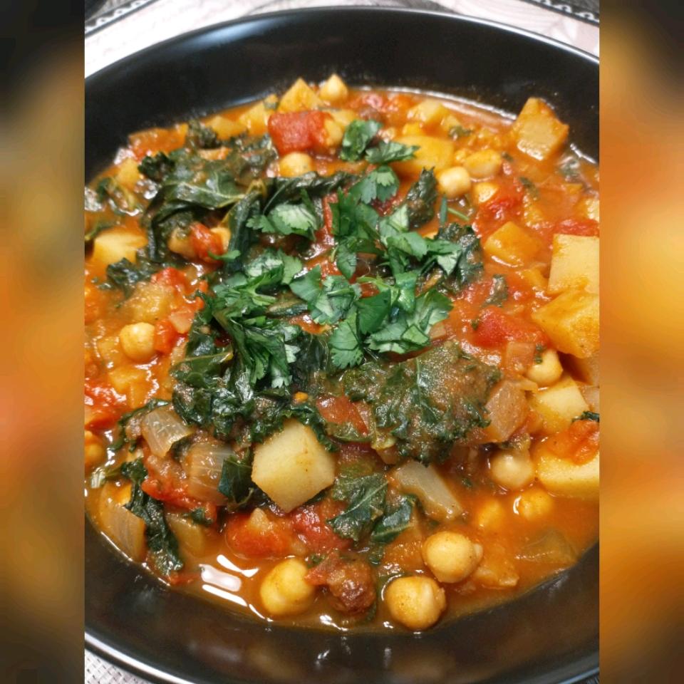 Moroccan Chickpea Stew Ren