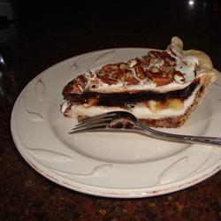 Chocolate Banana Pie newbsicle
