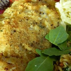 Crispy Garlic-Parmesan Chicken