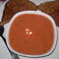 Rachel's Tomato Basil Soup Muffinmom